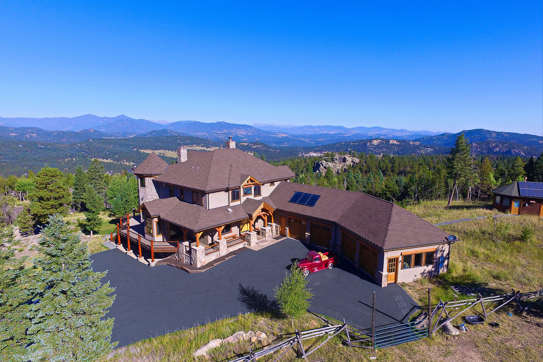 Maison unifamiliale pour l Vente à 26214 Grand Summit Trail Evergreen, Colorado, 80439 États-Unis