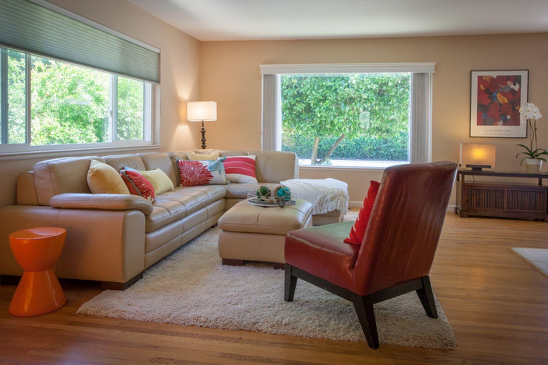 獨棟家庭住宅 為 出售 在 Kentfield-Settle In and Enjoy Marin Lifestyle 729 Sir Francis Drake Blvd Kentfield, 加利福尼亞州 94904 美國