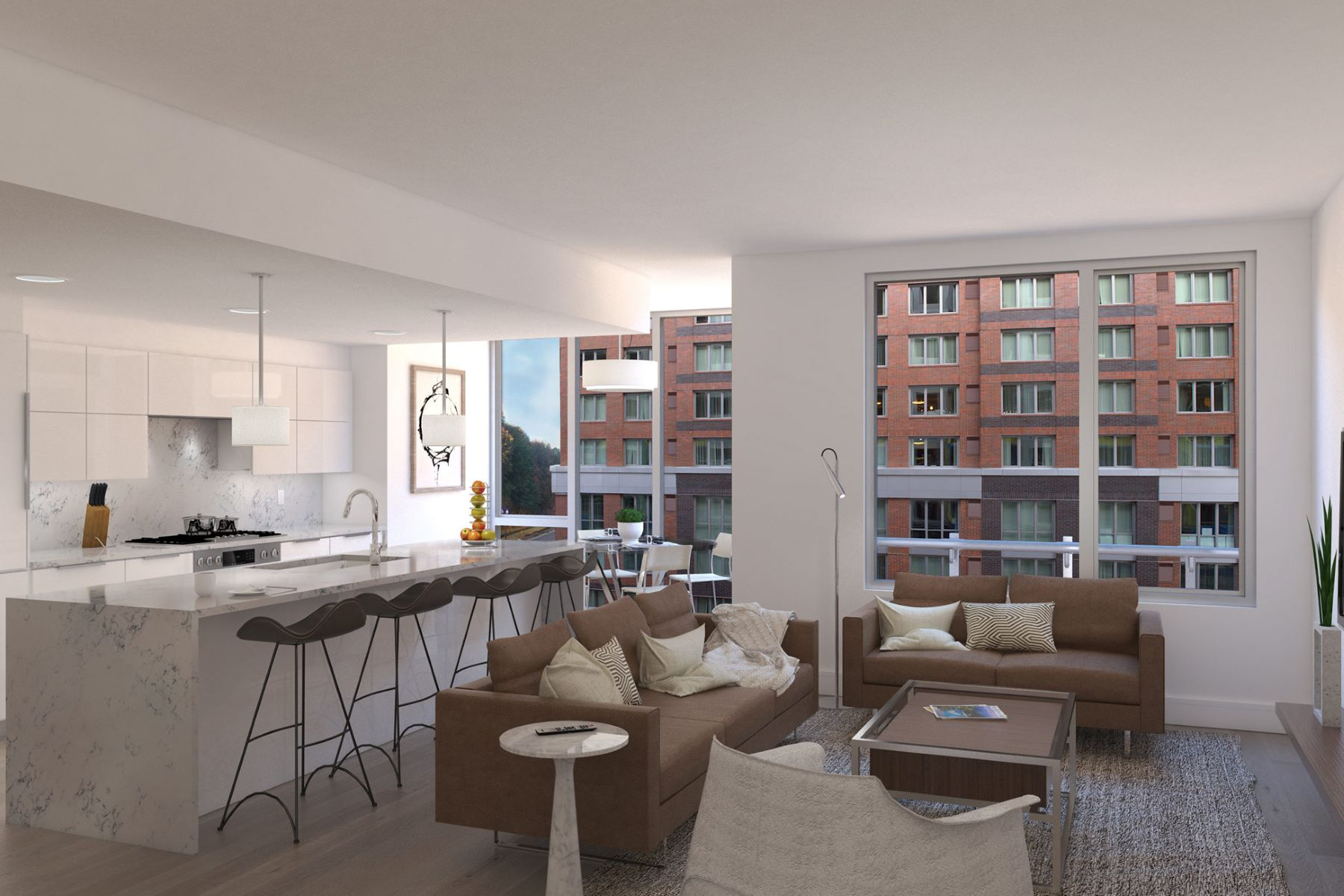 Additional photo for property listing at Nine on The Hudson 9 Avenue at Port Imperial  #402 West New York, 뉴저지 07093 미국