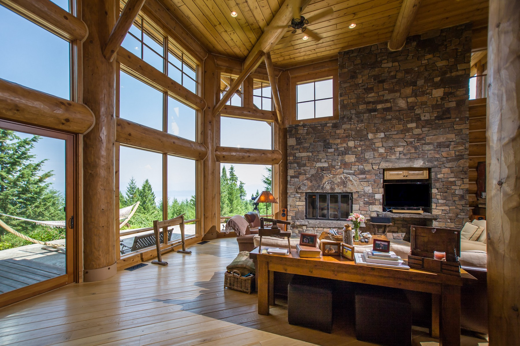 Single Family Homes for Sale at 675 Blacktail Heights Road Lakeside, Montana 59922 United States
