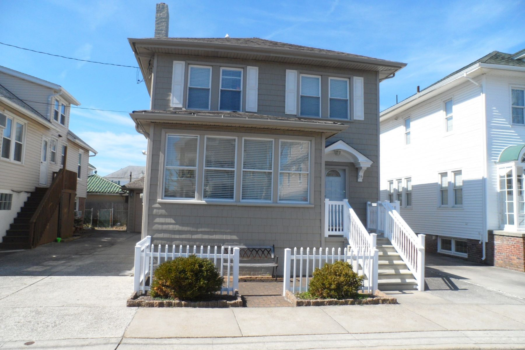 Single Family Homes for Sale at 14 S Lafayette Ave Ventnor, New Jersey 08406 United States