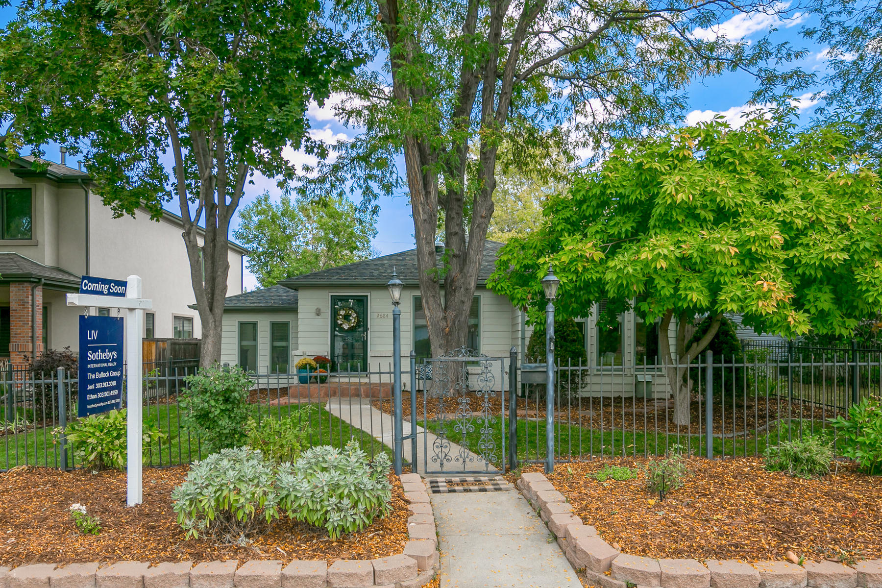 Single Family Home for Active at Traditional Styling Meets Modern Amenities 2684 S Adams St Denver, Colorado 80210 United States