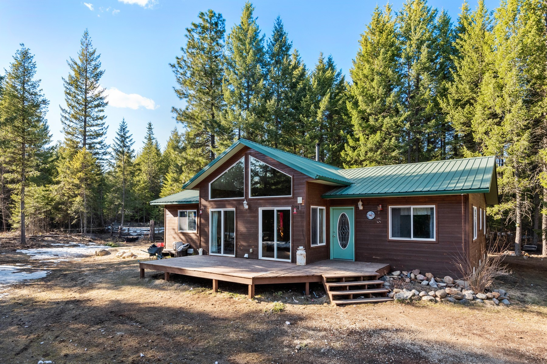 Single Family Homes for Sale at Home and Shop on 4.6 Acres 2190 Old Priest River Rd Priest River, Idaho 83856 United States