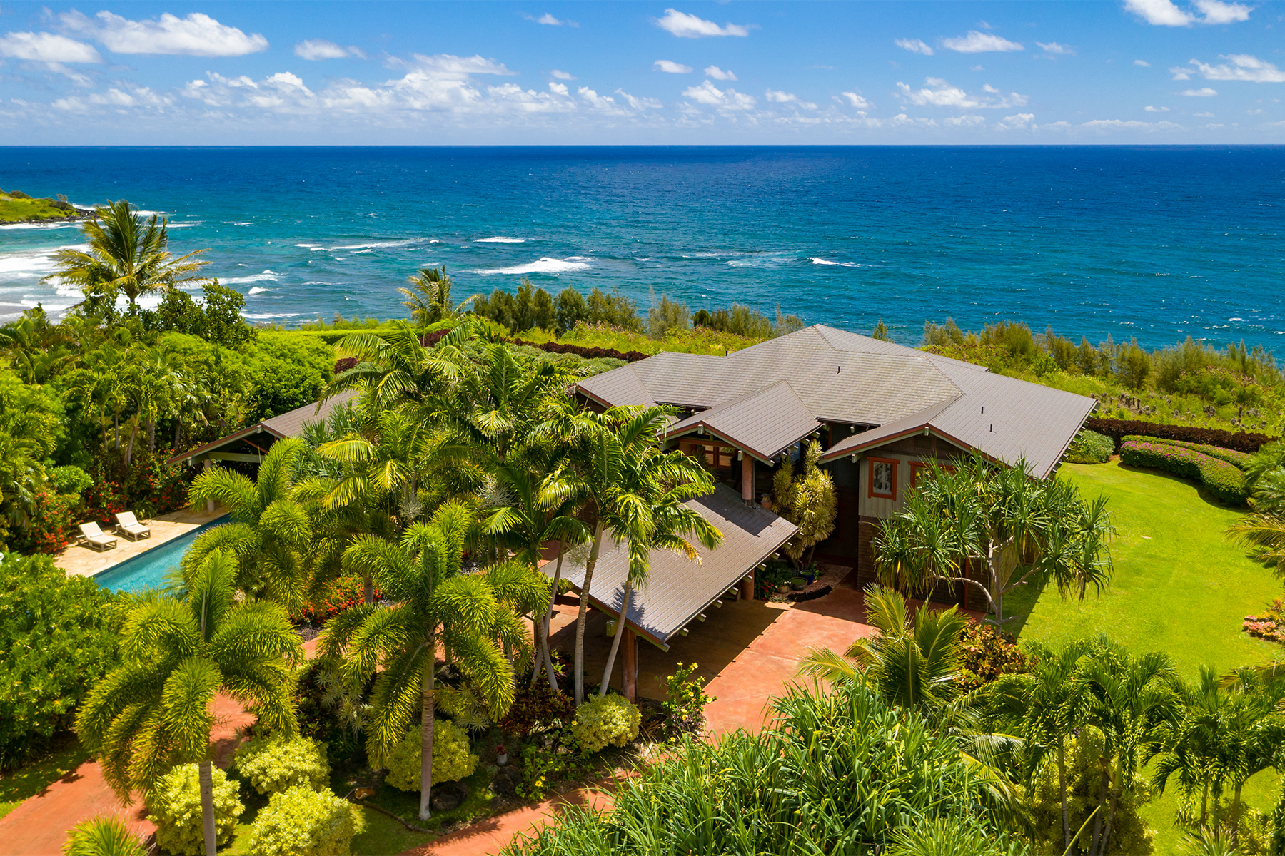 Single Family Homes 용 매매 에 Aliomanu Estate #10E 5450 Kalalea View #10E, Anahola, 하와이 96703 미국