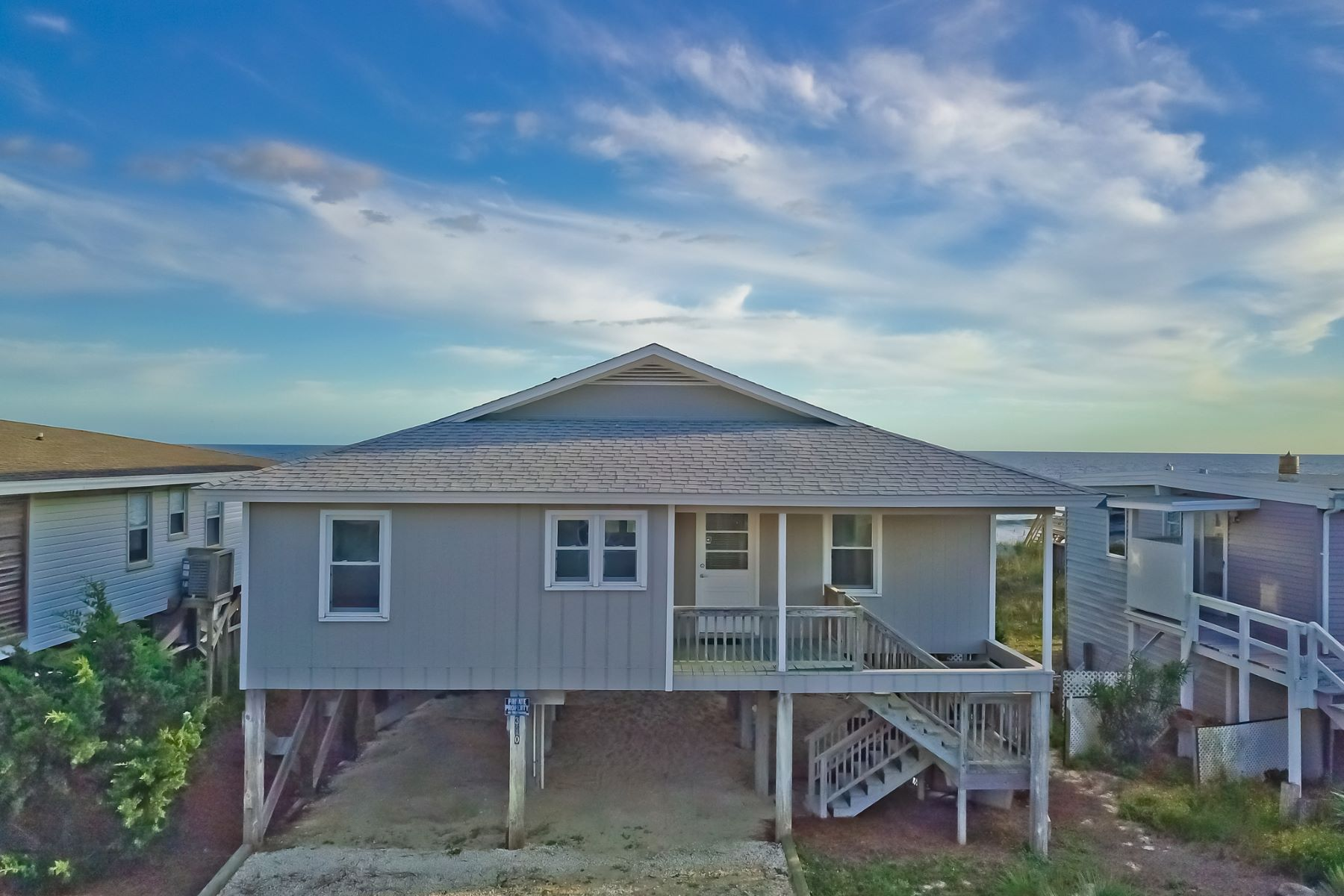 Single Family Home for Sale at Picturesque Oceantfront Sunrises in Ocean Isle Beach 390 E First St, Ocean Isle Beach, North Carolina, 28469 United States