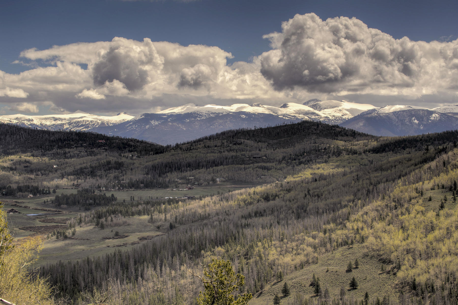 Land for Sale at 183 Acres of Panoramic Views 1665 GCR 4081 Granby, Colorado 80446 United States