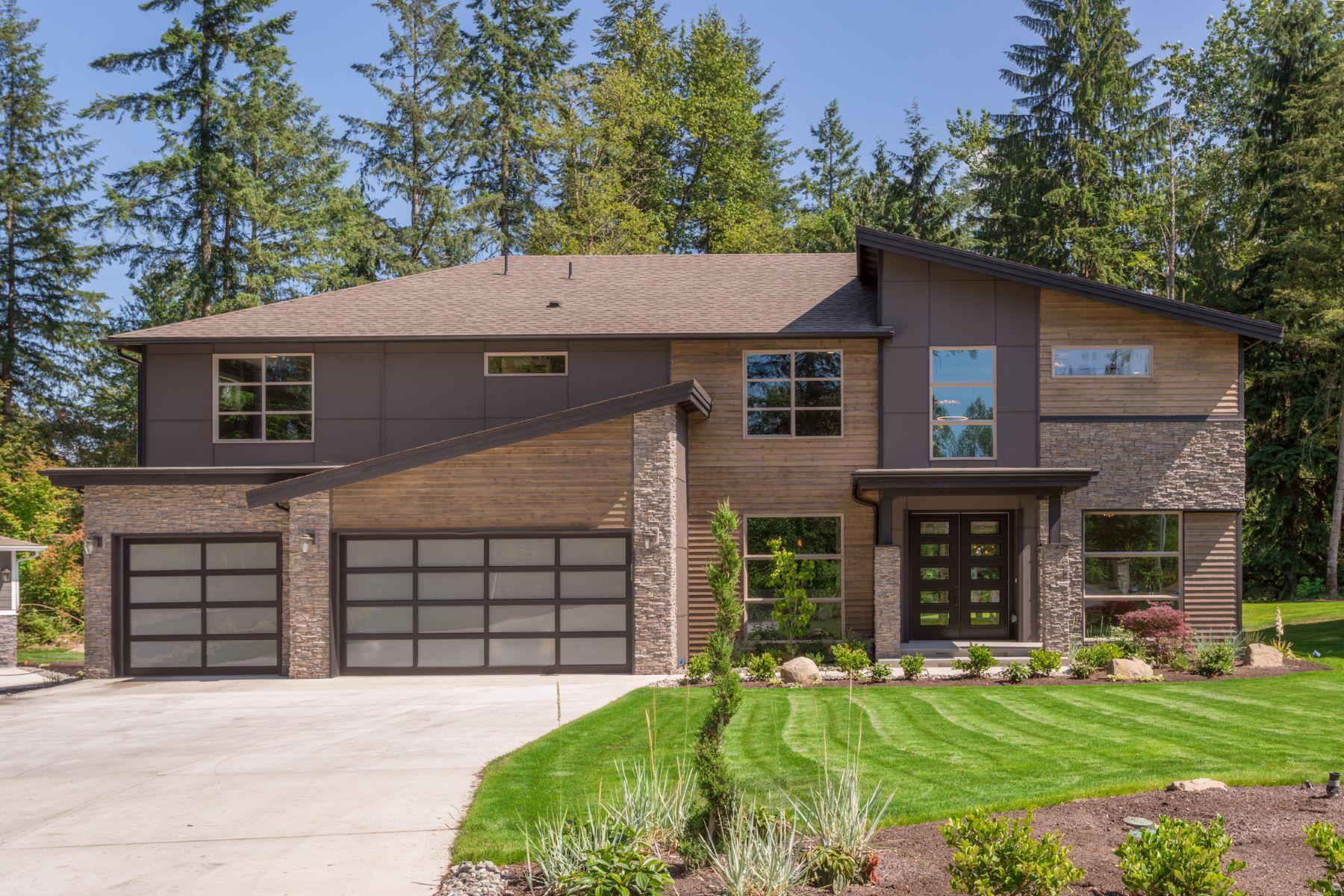 Casa para uma família para Venda às Sophisticated Modern Living in Echo Lake 11408 Lot 9 207th St SE Snohomish, Washington, 98296 Estados Unidos