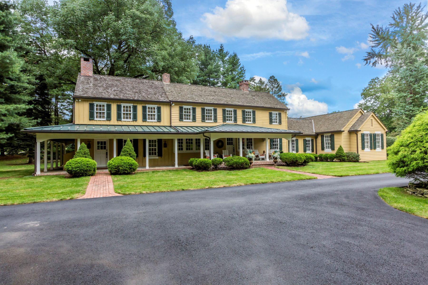 Single Family Home for Sale at True Bucks County Flavor 114 Cedar Glen Drive, New Hope, Pennsylvania 18938 United States