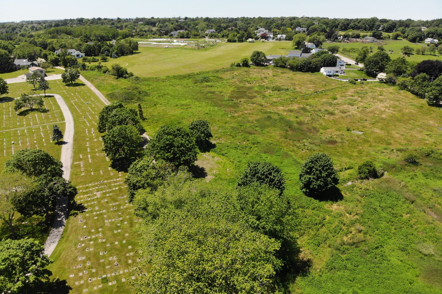 Land for Sale at Fourteen Plus Acres at Howland Farm 208 Howland Avenue Middletown, Rhode Island 02842 United States