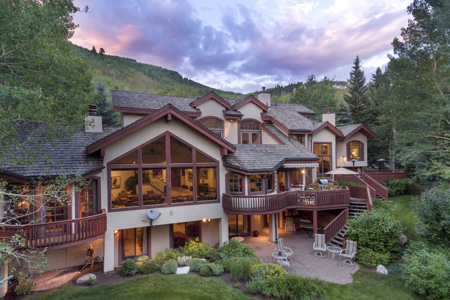 Single Family Home for Active at An Alpine Oasis with Vail Mountain Views 781 Potato Patch Dr Vail, Colorado 81657 United States