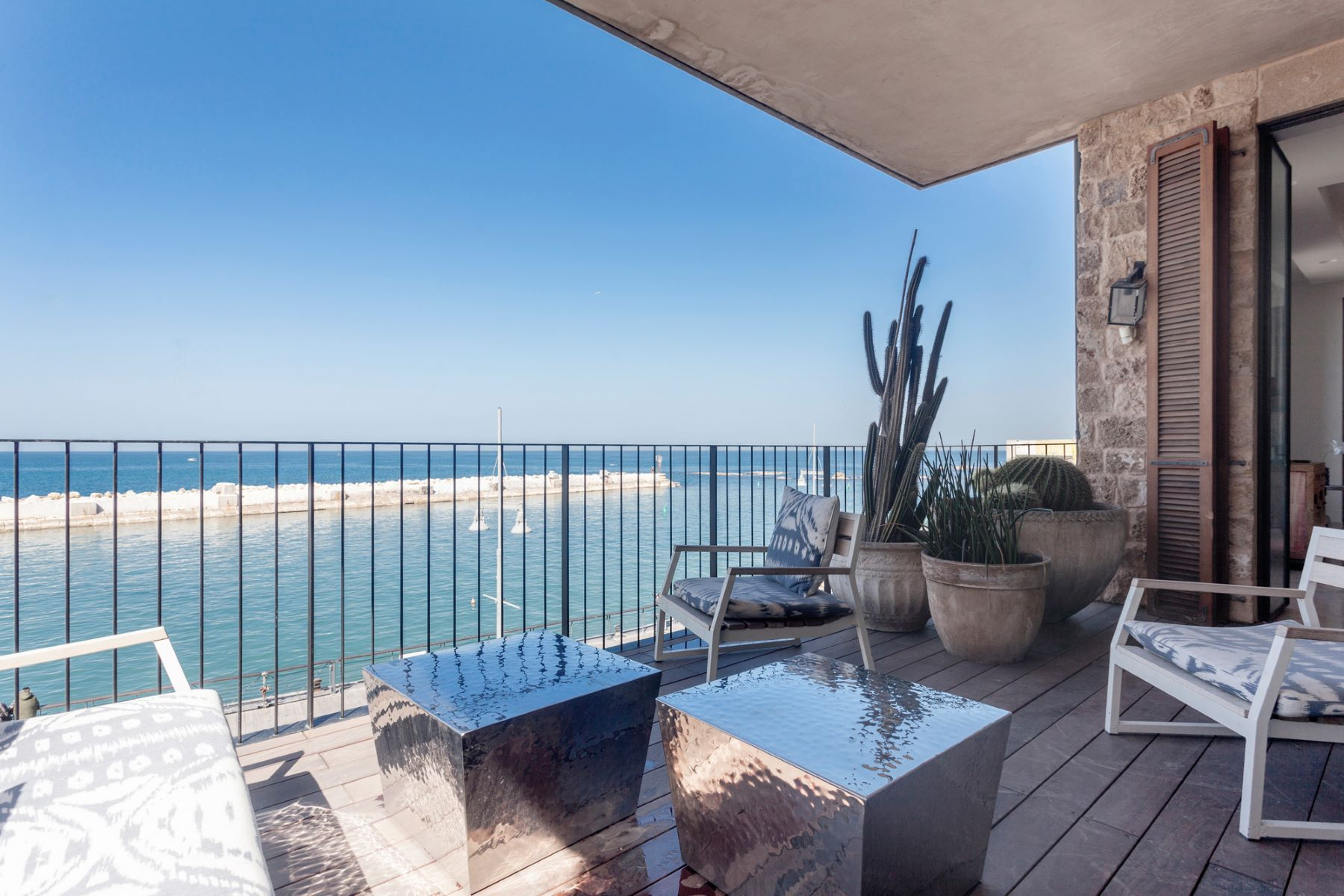 Additional photo for property listing at Sea Front Luxury Apartment in Historical Jaffa Tel Aviv, Israel Israel