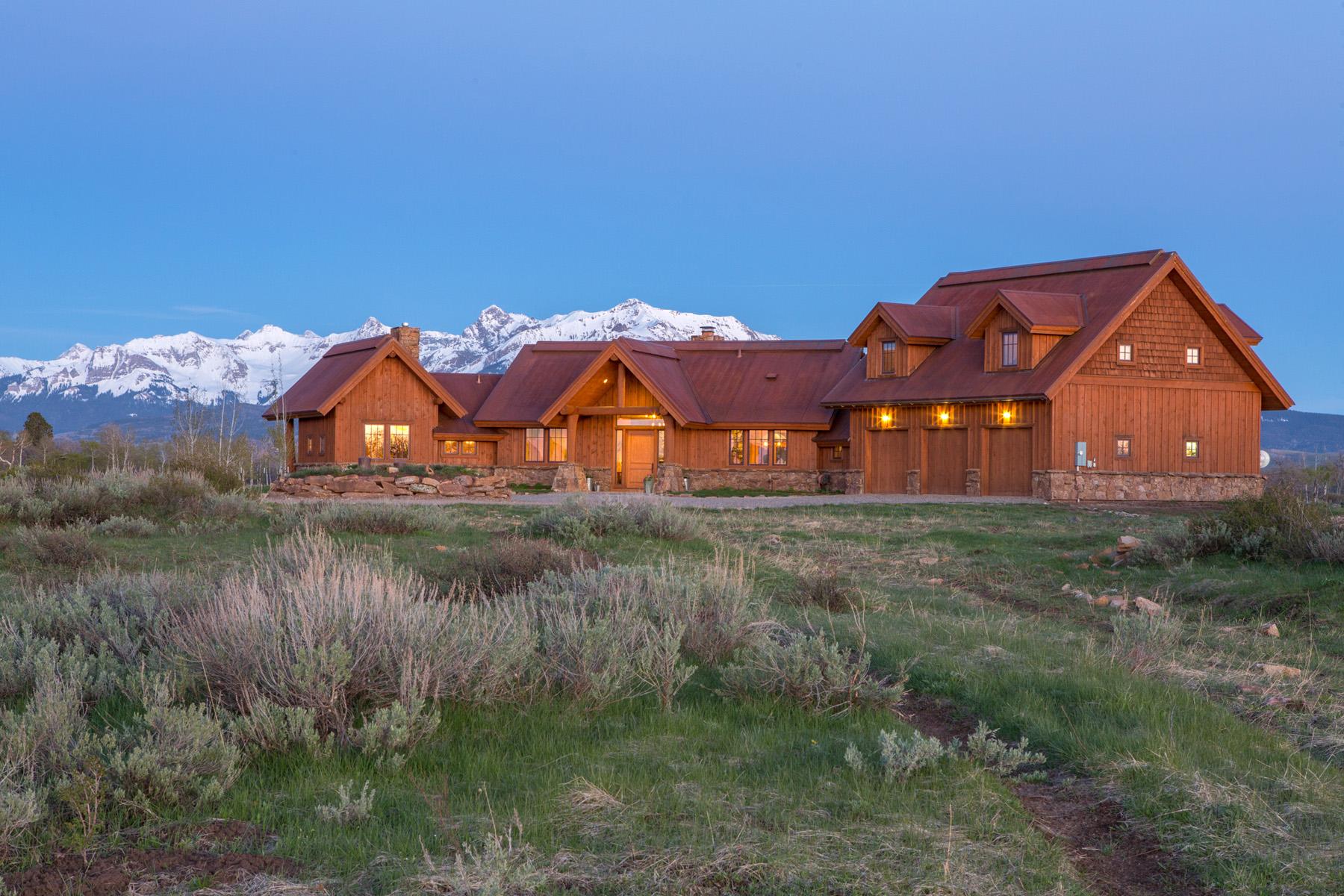 Einfamilienhaus für Verkauf beim 1005 Panorama Lane Placerville, Colorado, 81430 Vereinigte Staaten