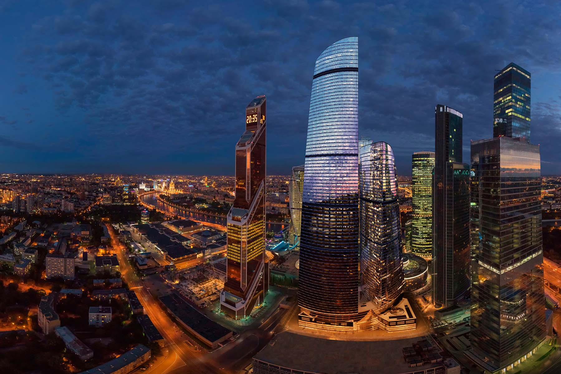 """Apartments for Sale at 3-level penthouse in the multifunctional complex """"Federation Tower"""" in Moscow-Ci Moscow, Moscow Russia"""