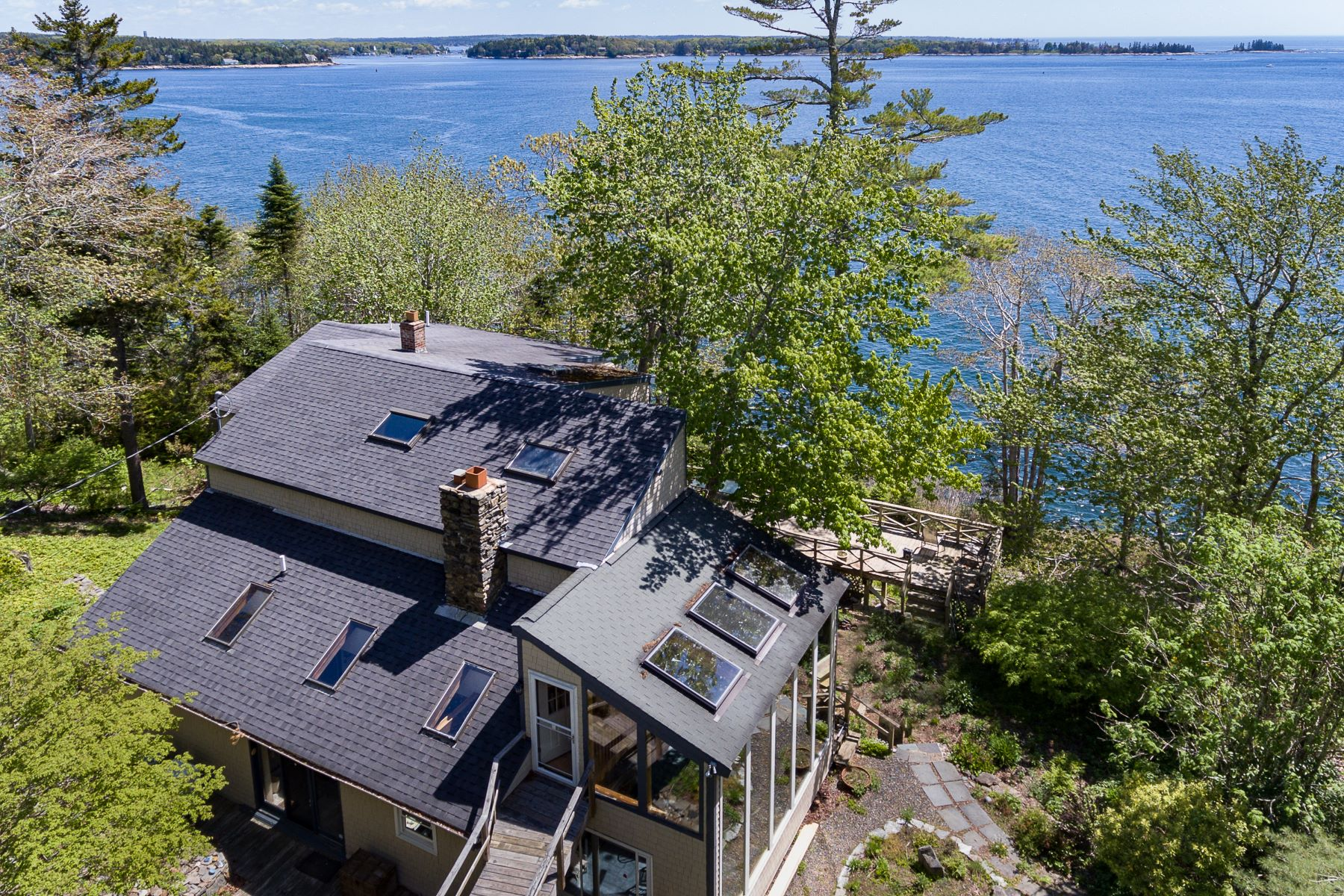 Single Family Homes للـ Sale في Boothbay, Maine 04544 United States