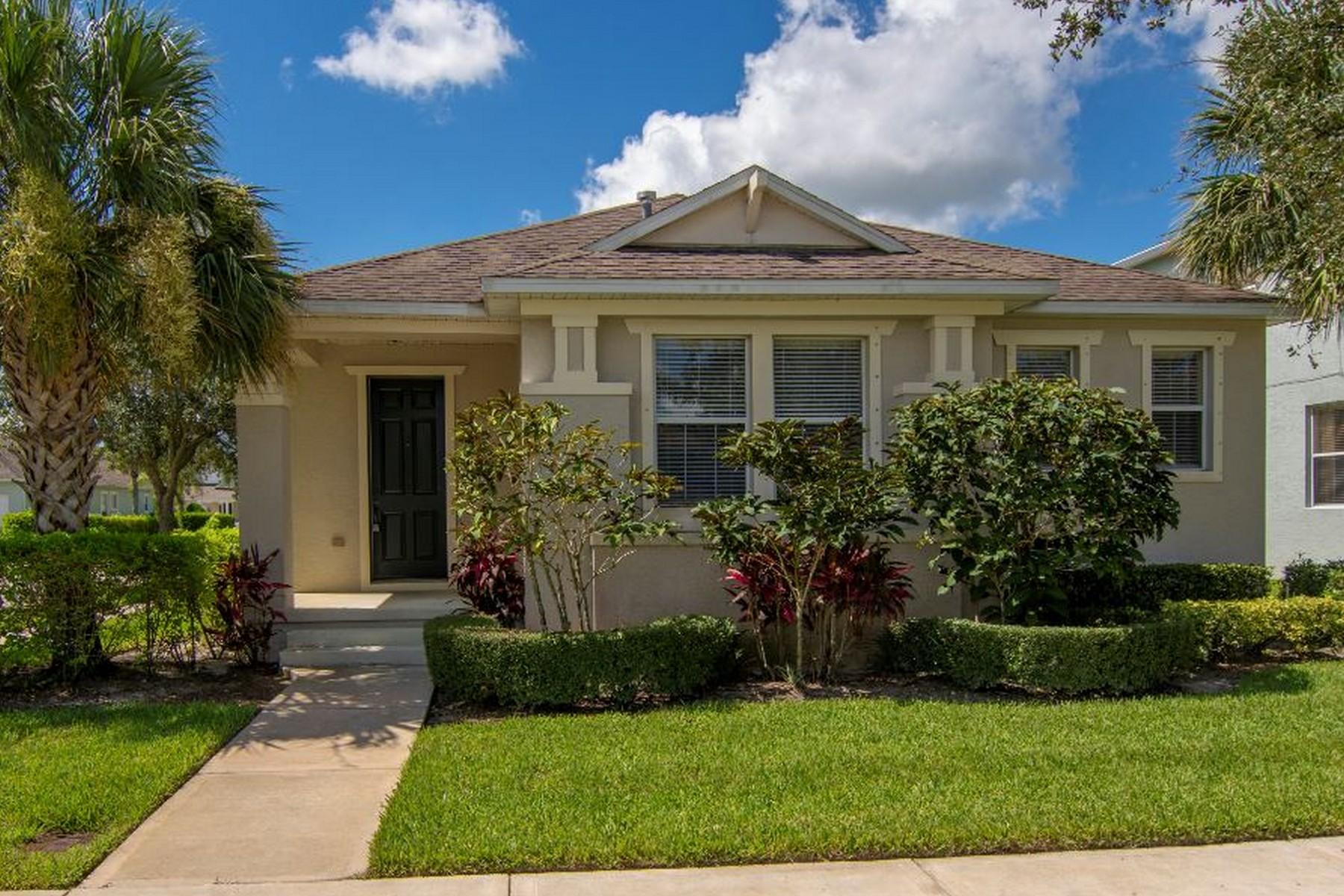 단독 가정 주택 용 매매 에 Tree Lined Street, Lovely Community and Home 7825 15th Street Vero Beach, 플로리다 32968 미국