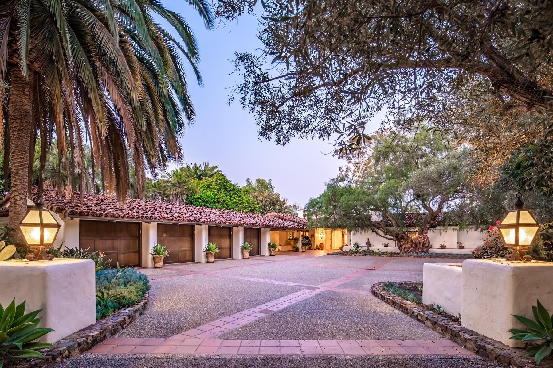 Single Family Homes por un Venta en 17538 El Vuelo Rancho Santa Fe, California 92067 Estados Unidos