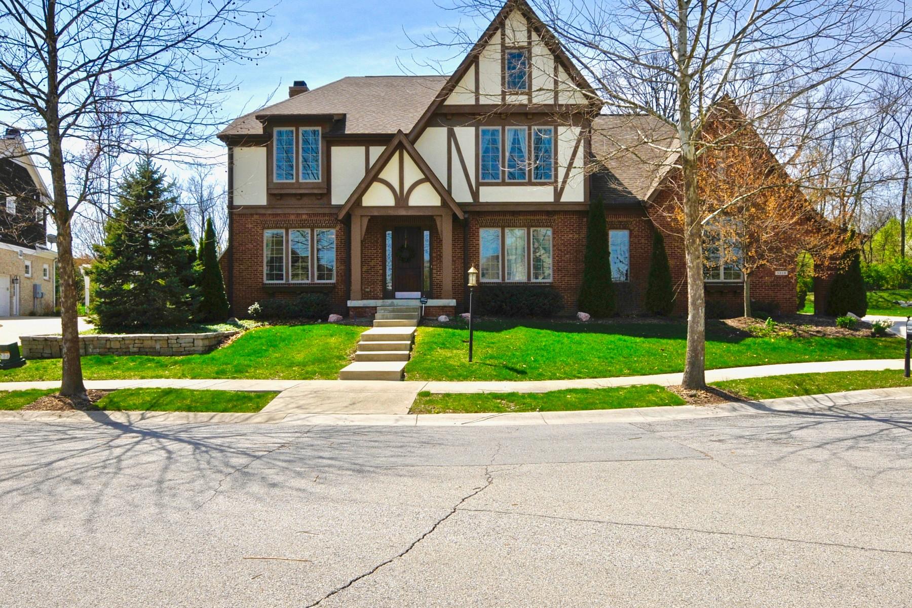 Single Family Home for Sale at Classic Tudor Home 5319 Randolph Crescent Drive Carmel, Indiana, 46033 United States