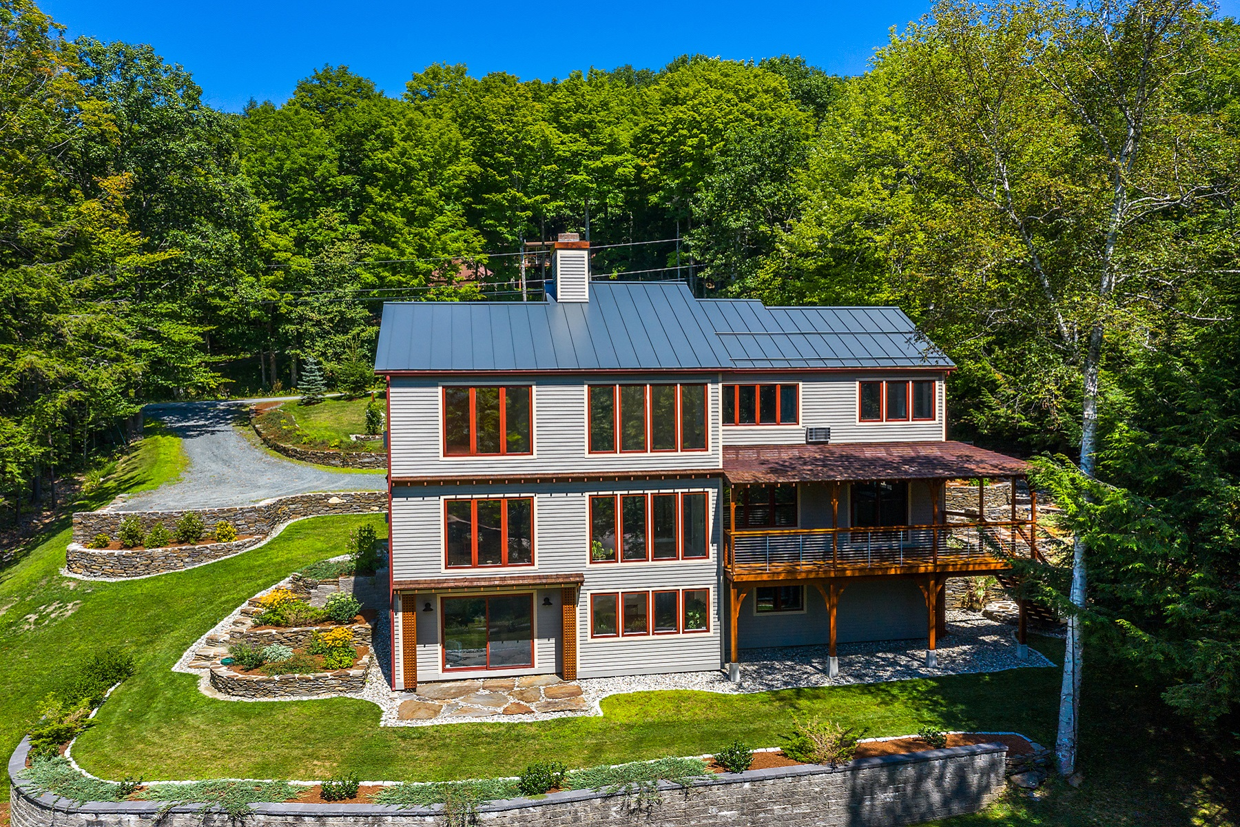 Single Family Homes for Sale at Welcome to Quechee Lakes 45 Golfview Lane Hartford, Vermont 05059 United States
