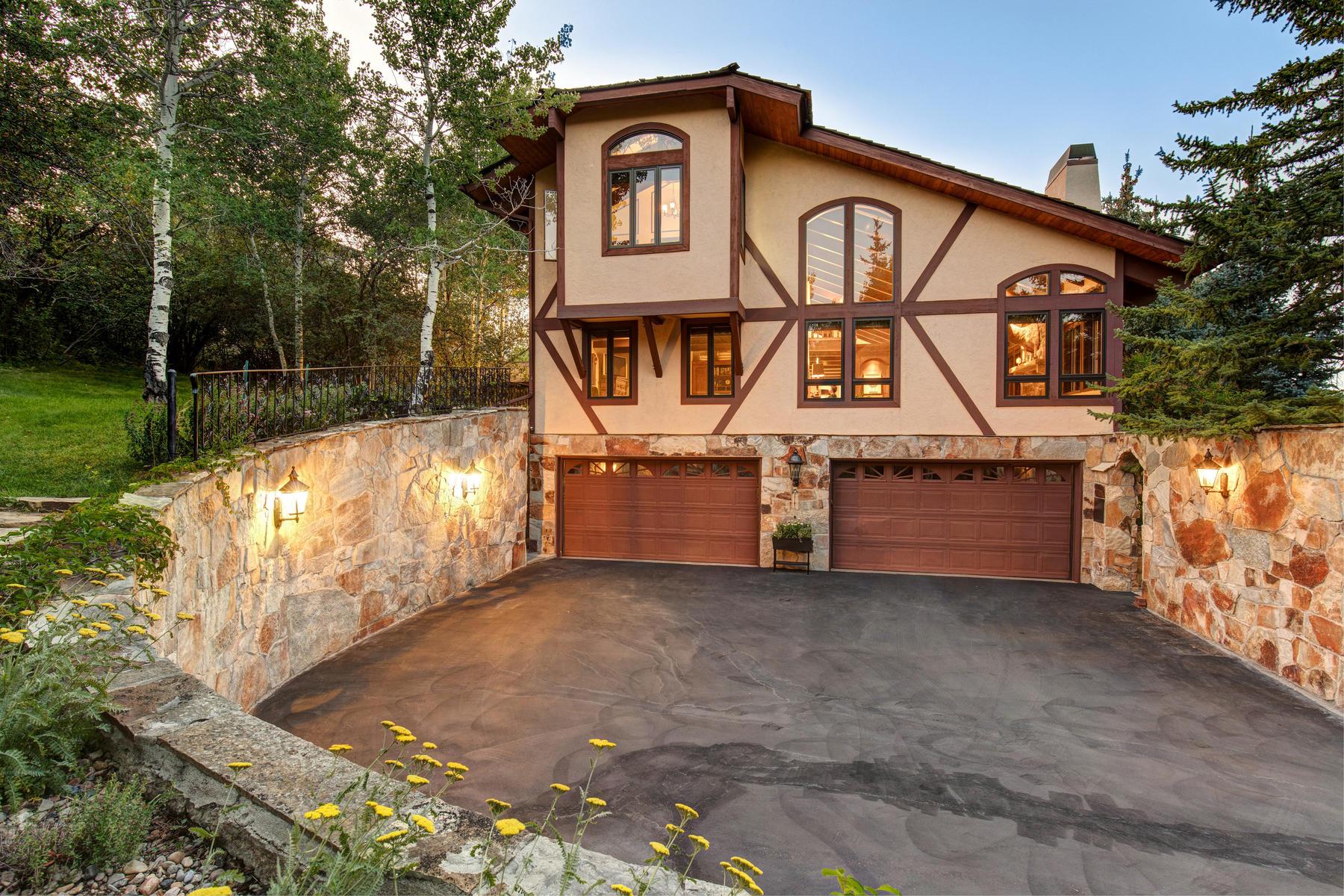Single Family Homes por un Venta en Rustic Revival with Contemporary Touches 2406 Morning Star Ct Park City, Utah 84060 Estados Unidos