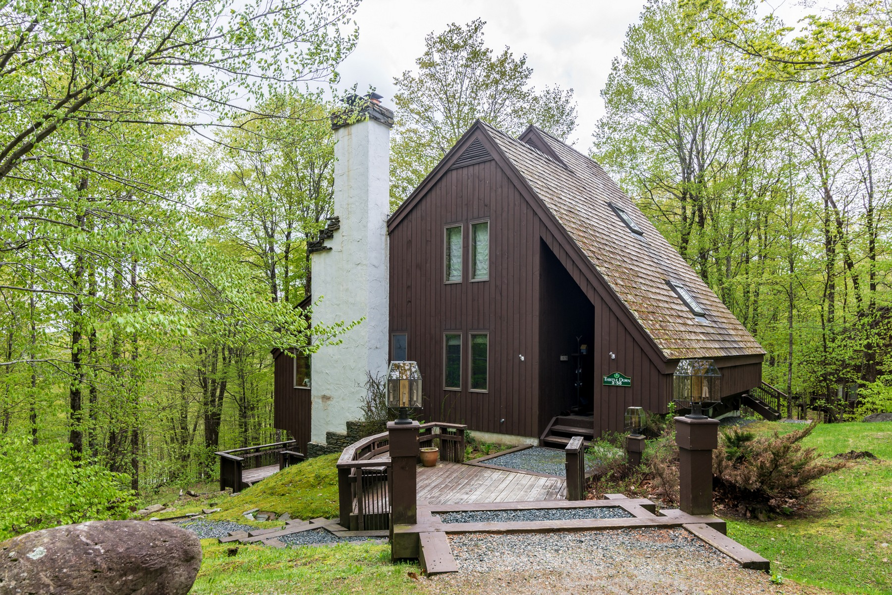 Single Family Homes for Sale at Snowy Owl Contemporary 133 Snowy Owl Lane Plymouth, Vermont 05056 United States