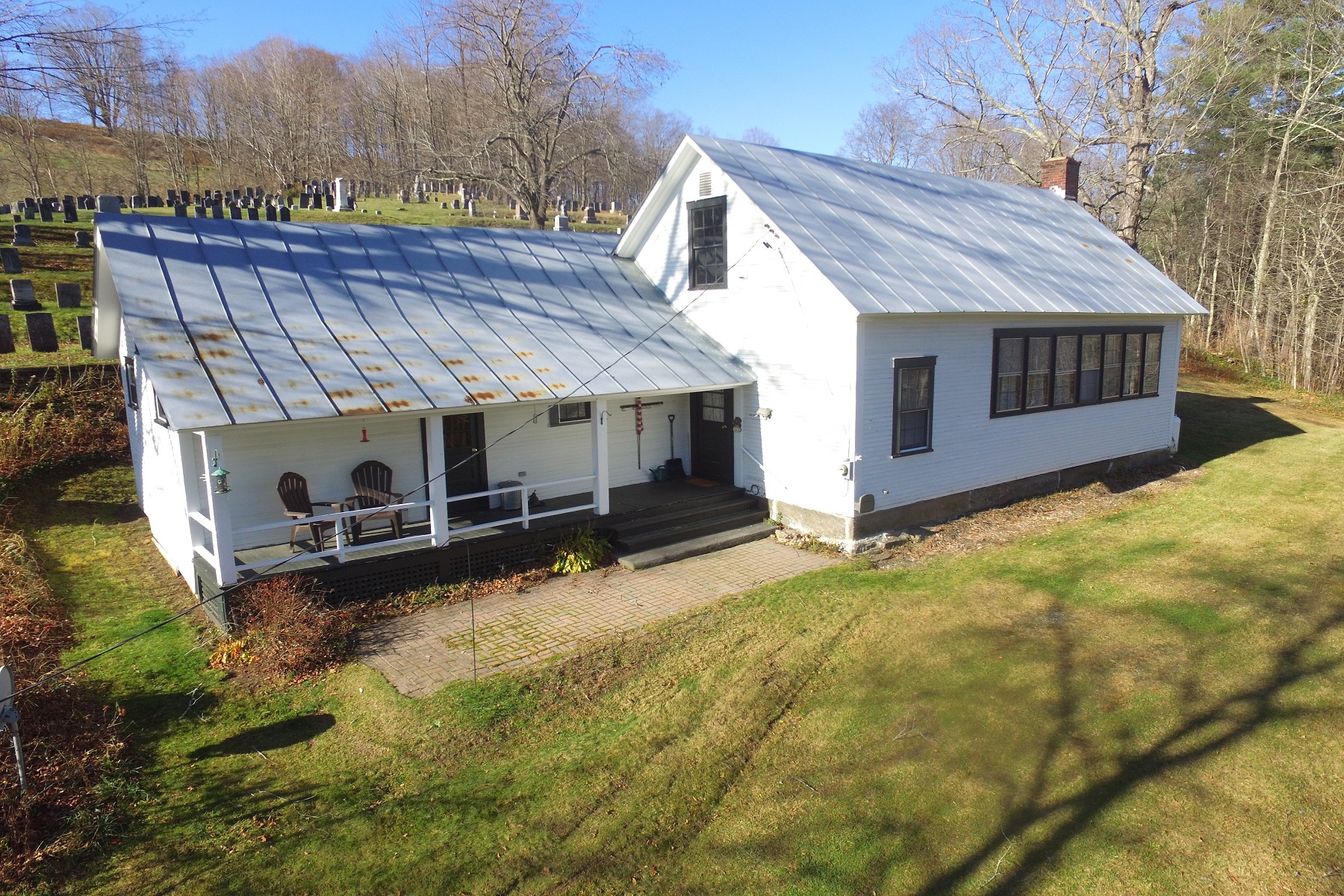 Single Family Homes for Sale at Historic Schoolhouse 121 Howe Road Pomfret, Vermont 05053 United States