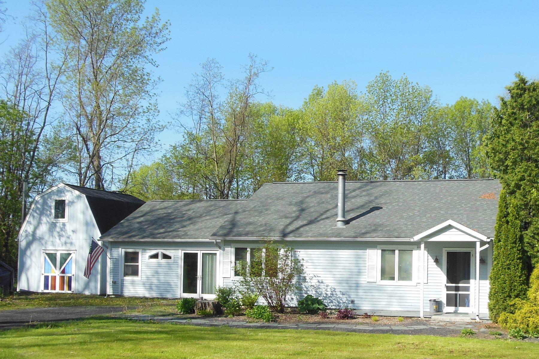 Single Family Homes for Sale at Gardener's paradise on Lake Champlain 2767 Lake St Shoreham, Vermont 05770 United States