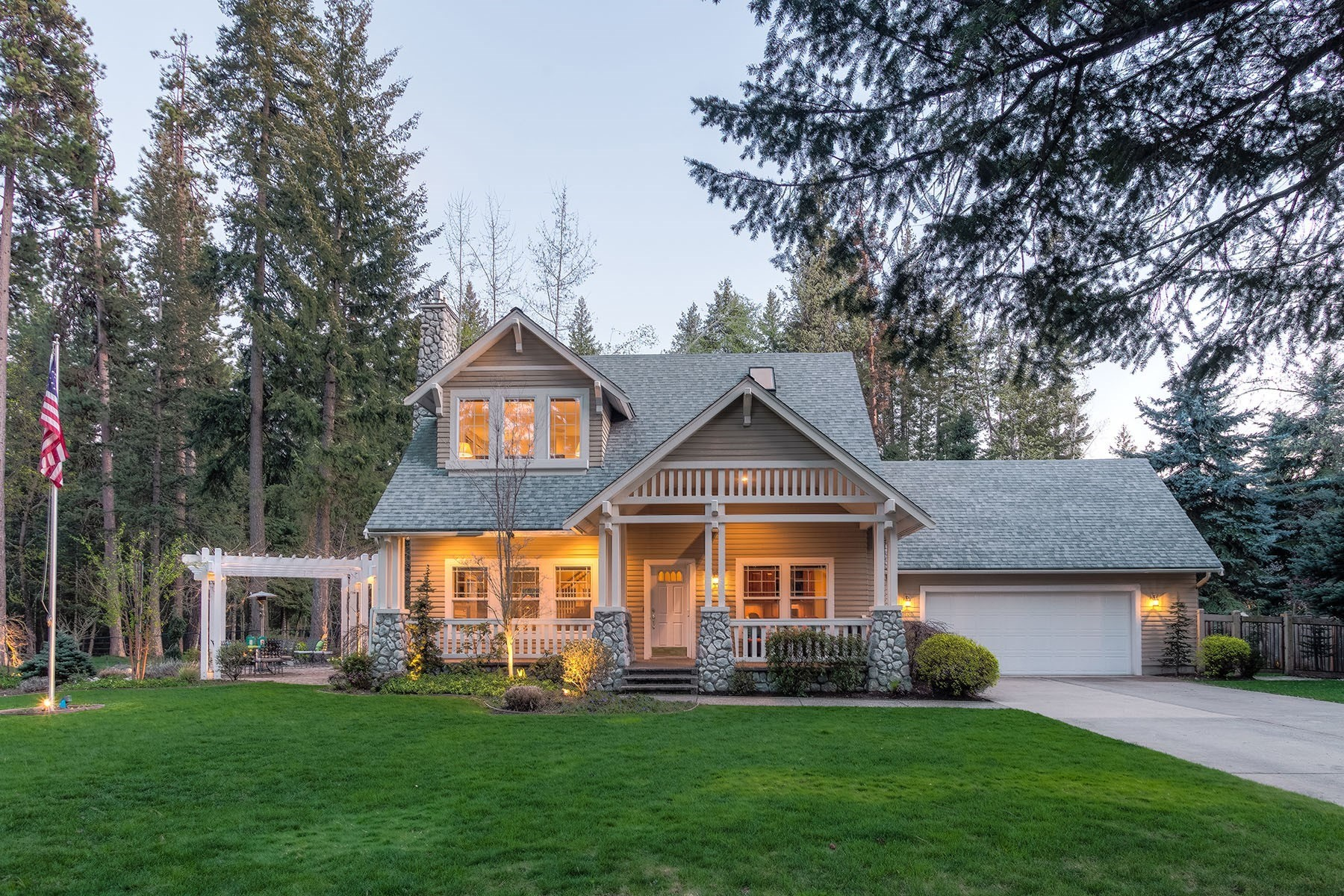 Single Family Home for Sale at Hayden Extraordinary Lifestyle Home 1800 E Hayden Ave Hayden Lake, Idaho, 83835 United States