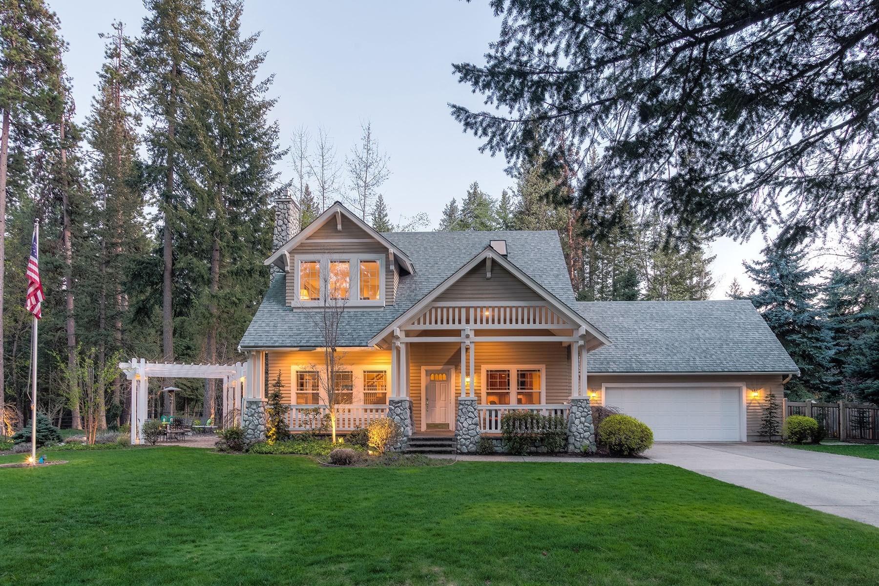 Einfamilienhaus für Verkauf beim Hayden Extraordinary Lifestyle Home 1800 E Hayden Ave Hayden Lake, Idaho, 83835 Vereinigte Staaten