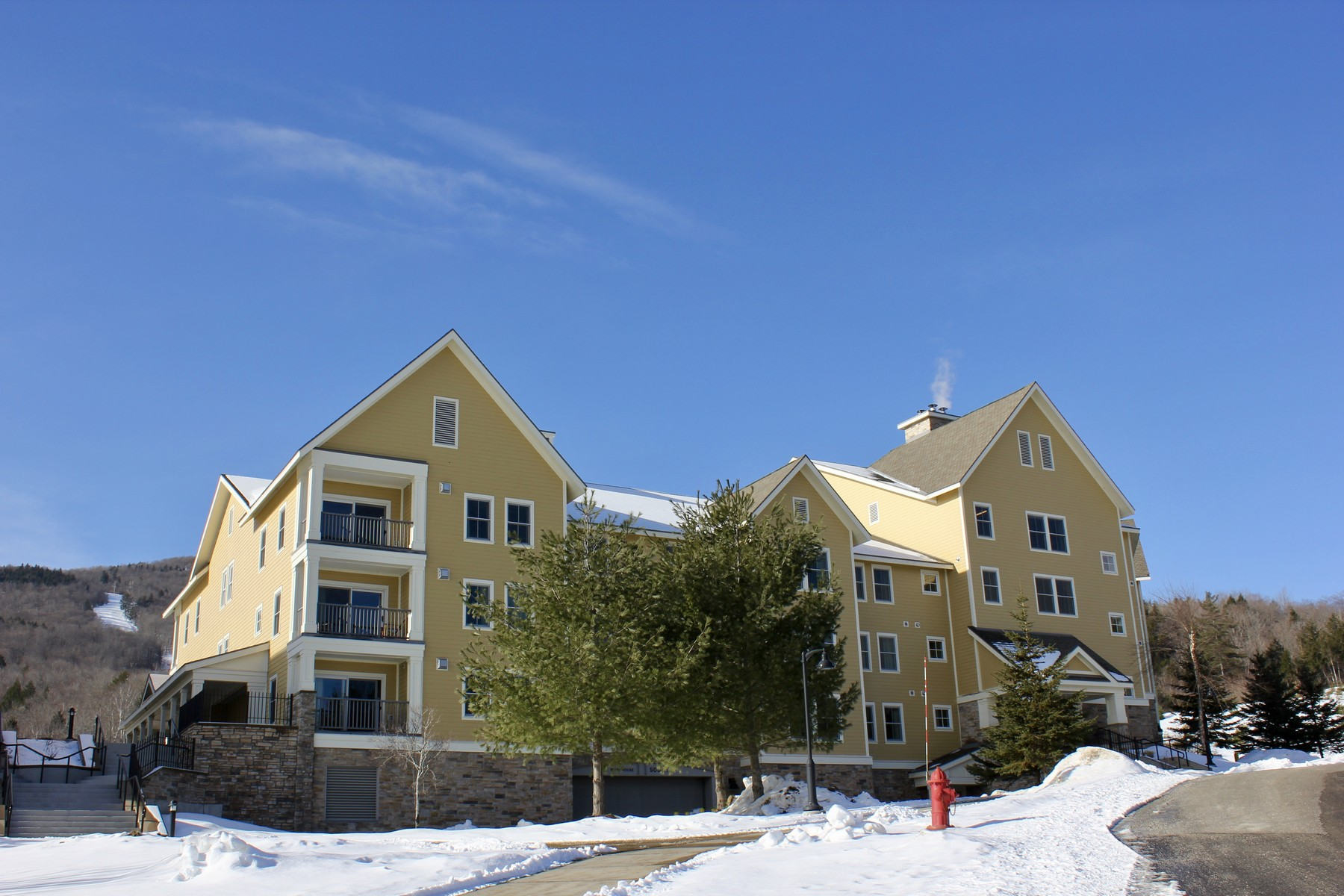 Condominium for Sale at Oversized - Two Bedroom - Slope-Side Condo 193 Jackson Gore Rd 735 Ludlow, Vermont 05149 United States