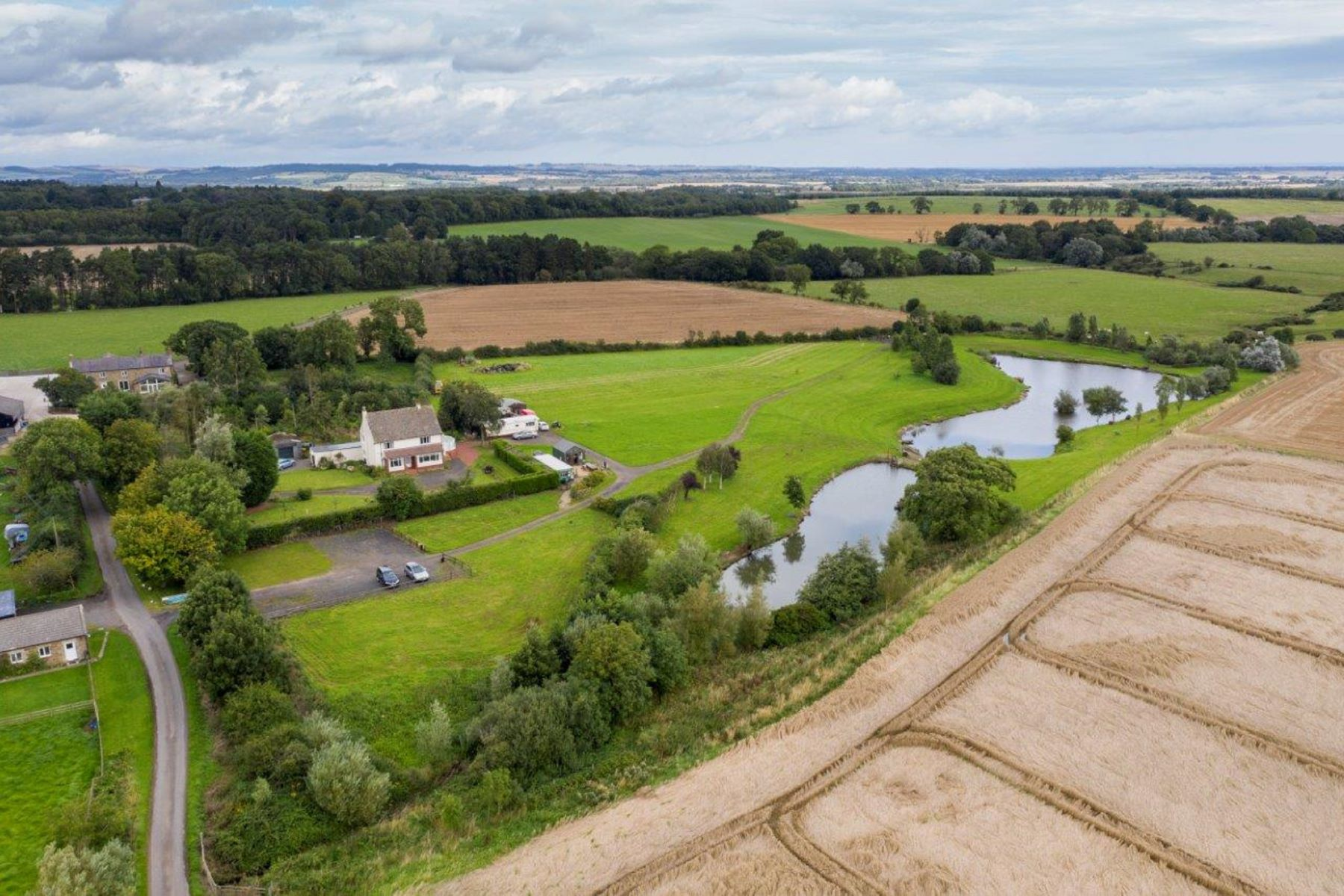 Farm / Ranch / Plantation for Sale at South Linden Fisheries Longhorsley Morpeth, England NE65 8TB United Kingdom
