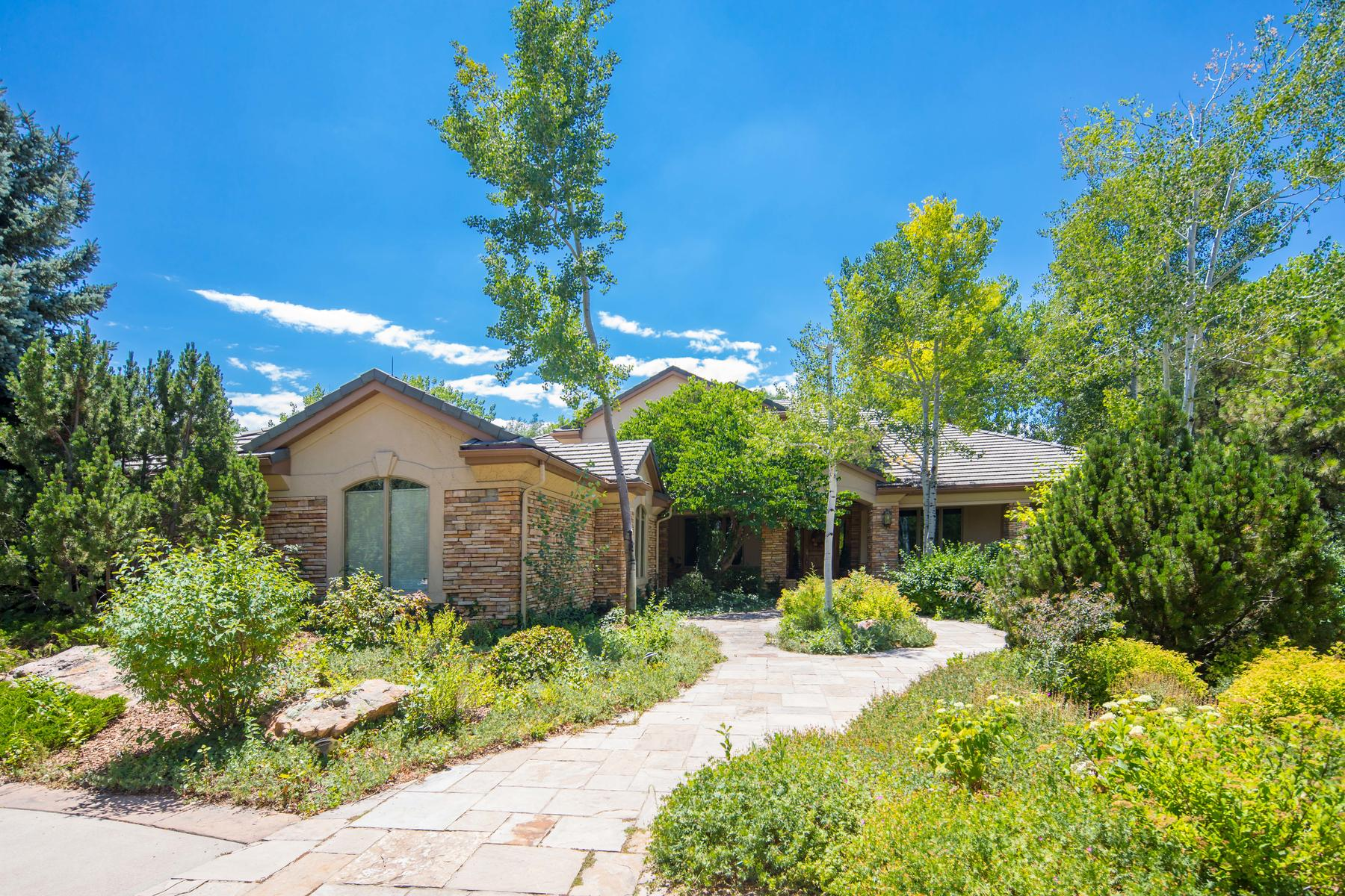 Single Family Home for Active at Welcome to this lovely family home on over half a peaceful acre in The Preserve. 4390 E Perry Pkwy Greenwood Village, Colorado 80121 United States