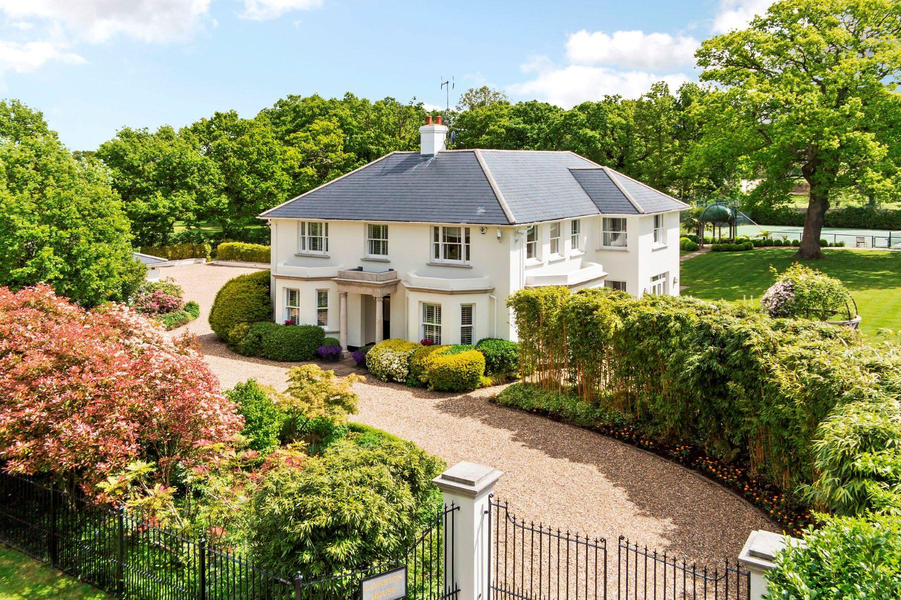 Частный односемейный дом для того Продажа на Pachesham Park, Oxshott, KT22 Oxshott, Англия, Великобритания