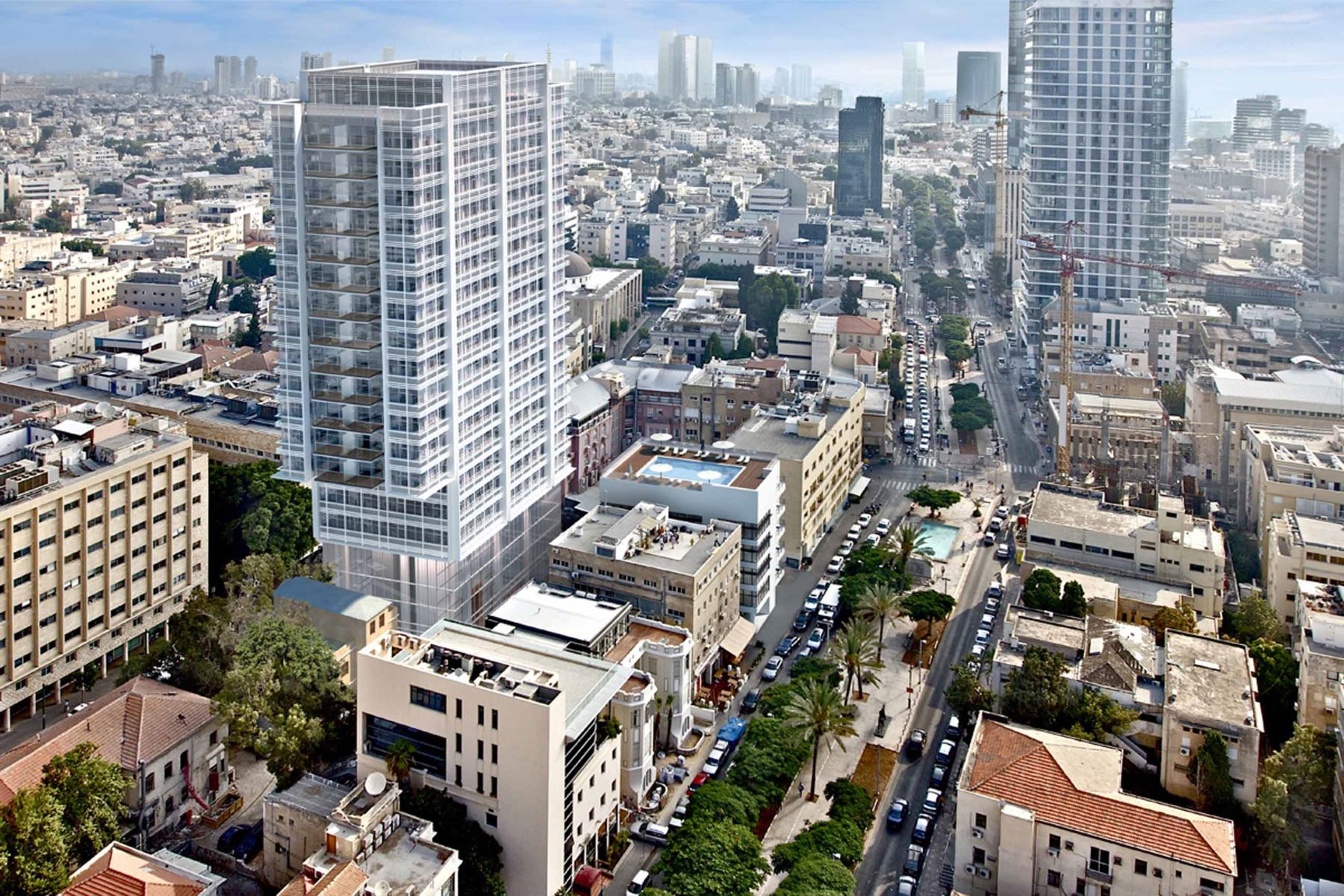 公寓 为 销售 在 The perfect blend of past and future at Rothschild Street 特拉维夫, 以色列 6688120 以色列