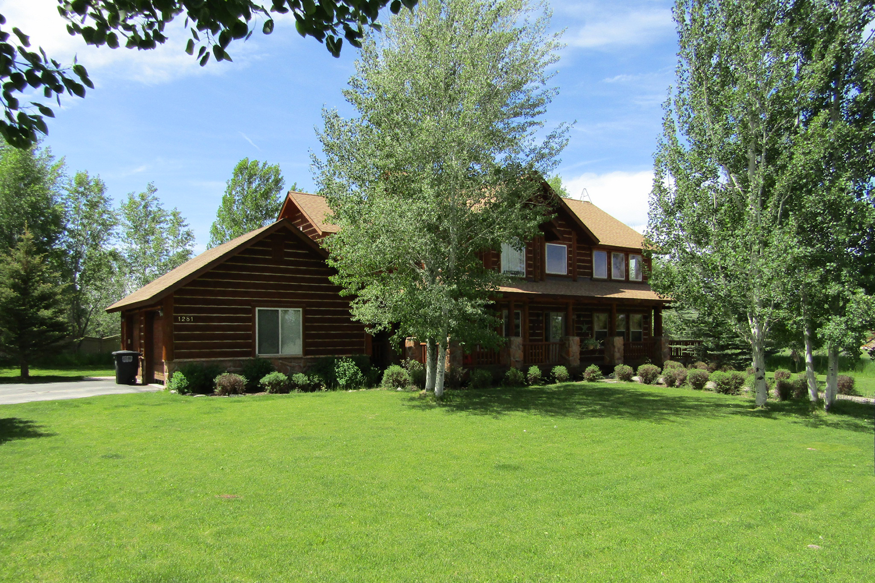 Single Family Home for Sale at Western Charm on Ski Hill Road 1281 MILLER RANCH RD Driggs, Idaho 83422
