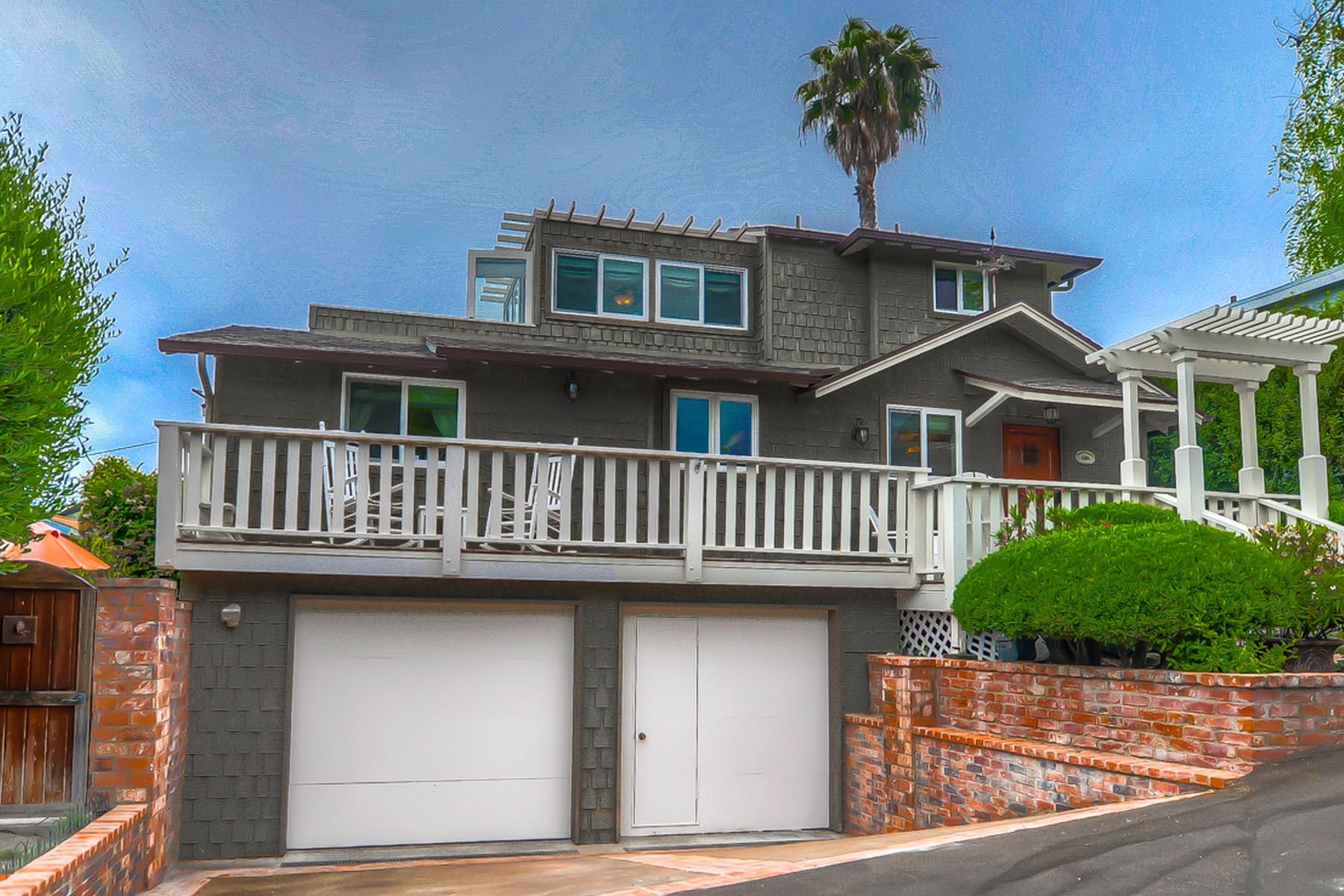 Vivienda unifamiliar por un Venta en 480 Calliope Laguna Beach, California, 92651 Estados Unidos