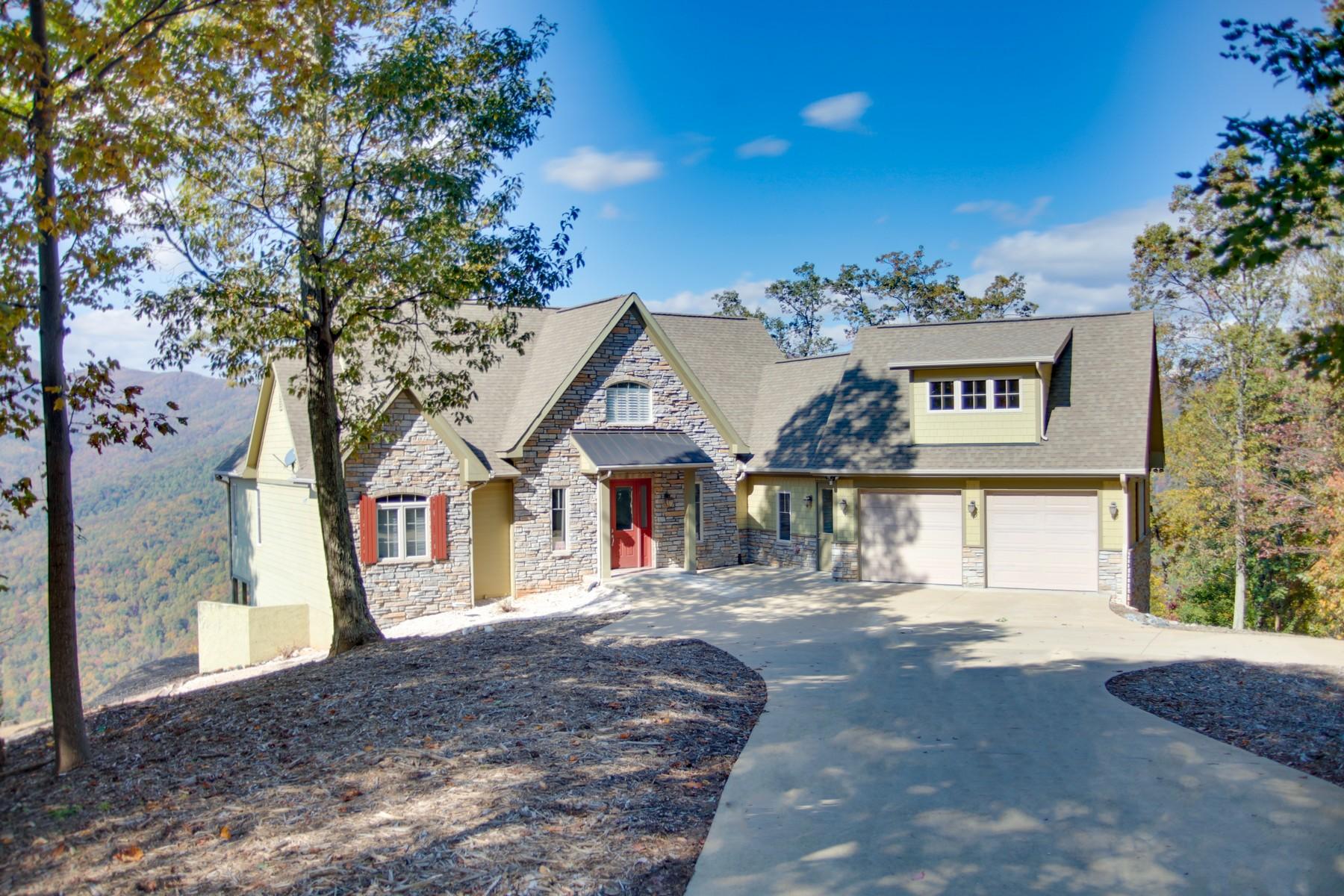 Single Family Homes for Active at Remarkable Mountain Home 231 Tatanka Trail Lake Lure, North Carolina 28746 United States