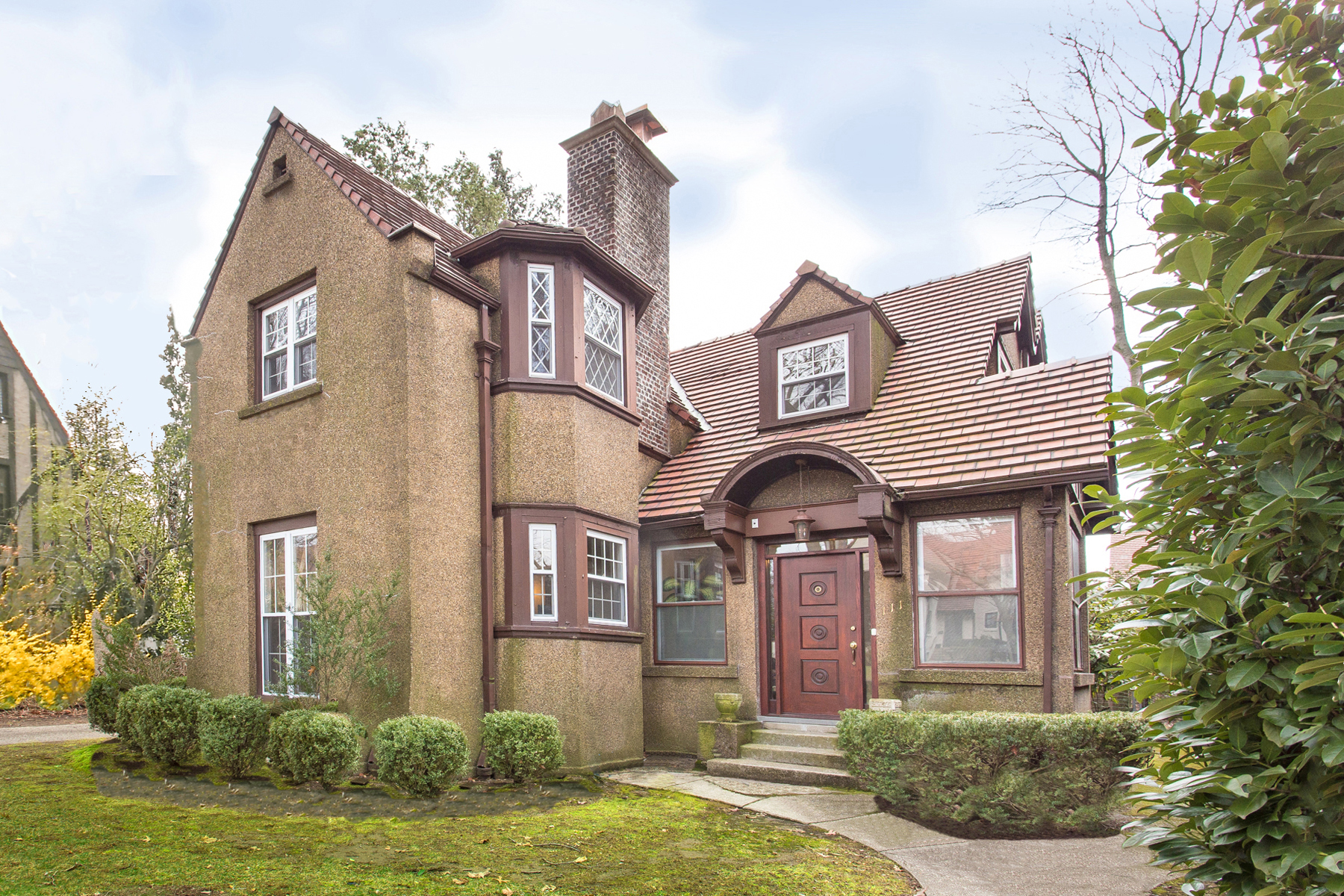"""Single Family Homes for Sale at """"A MASTERPIECE OF TRADITIONAL GARDENS ARCHITECTURE"""" 111 Whitson Street, Forest Hills Gardens, Queens, New York 11375 United States"""