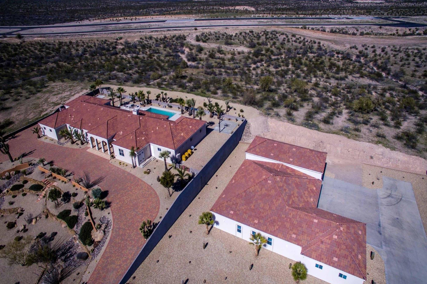 Single Family Homes for Sale at Dream Estate on the Hill 2590 W PERCHERON RD Wickenburg, Arizona 85390 United States