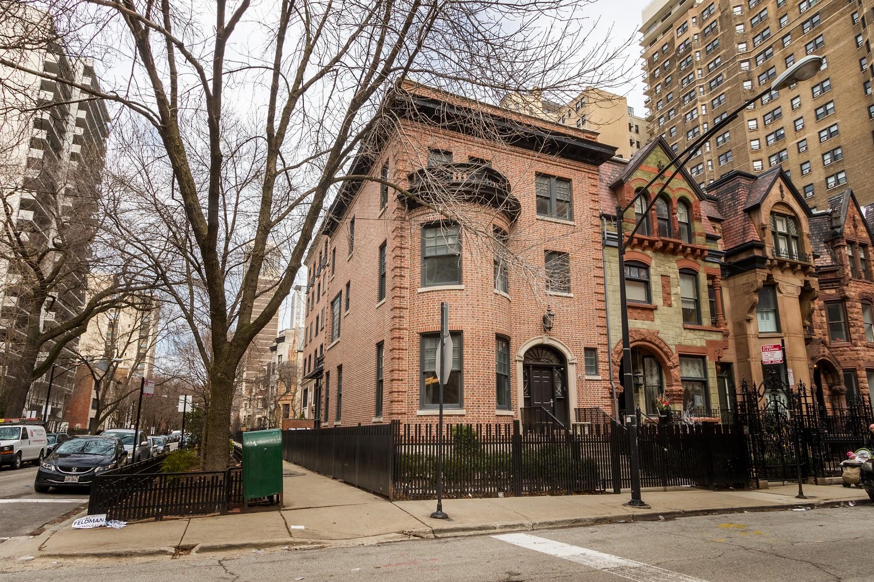 Частный односемейный дом для того Продажа на Historic Georgian Home 1401 N Astor Street, Near North Side, Chicago, Иллинойс, 60610 Соединенные Штаты