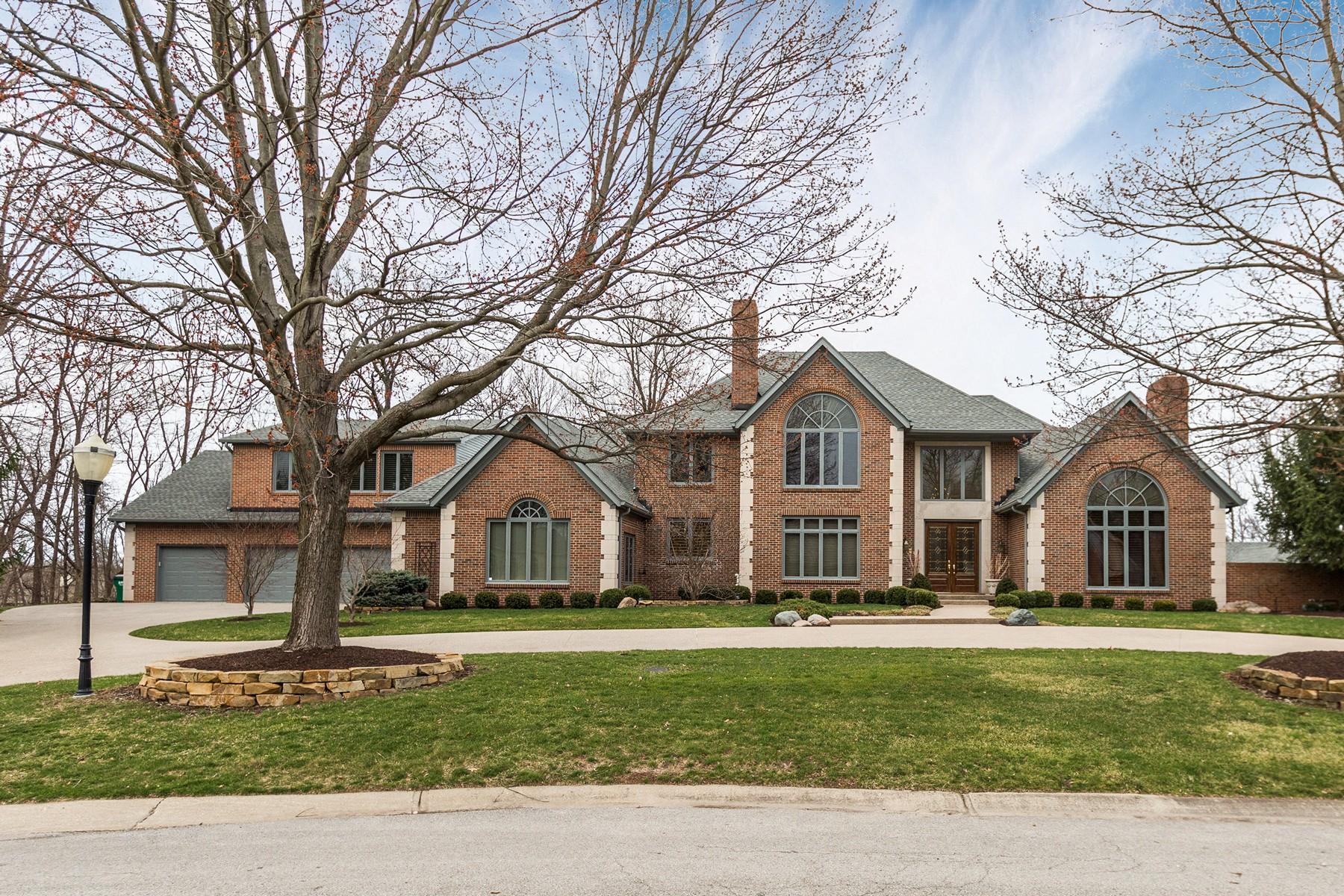 Частный односемейный дом для того Продажа на Privacy and Tranquility 6780 Barrington Place Fishers, Индиана, 46038 Соединенные Штаты