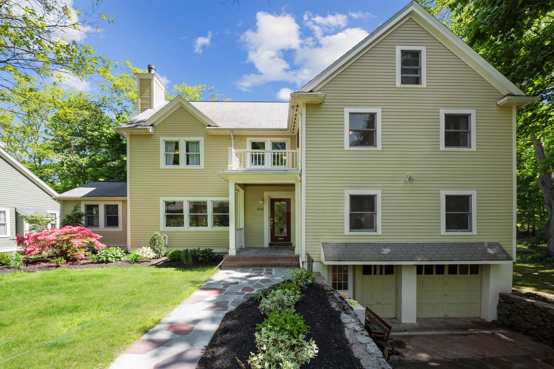 Single Family Homes pour l Vente à 154 Stanley Rd Newton, Massachusetts 02468 États-Unis