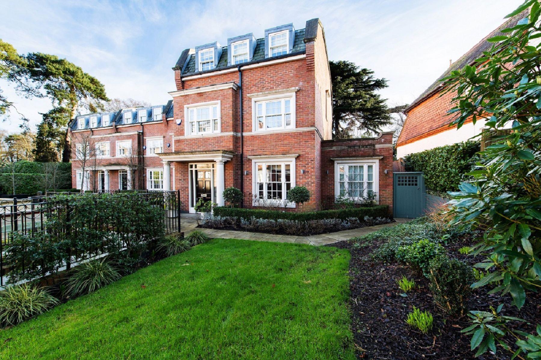 townhouses for Sale at Belgrave House 5 Warrenhurst Gardens Weybridge, England KT13 0EJ United Kingdom