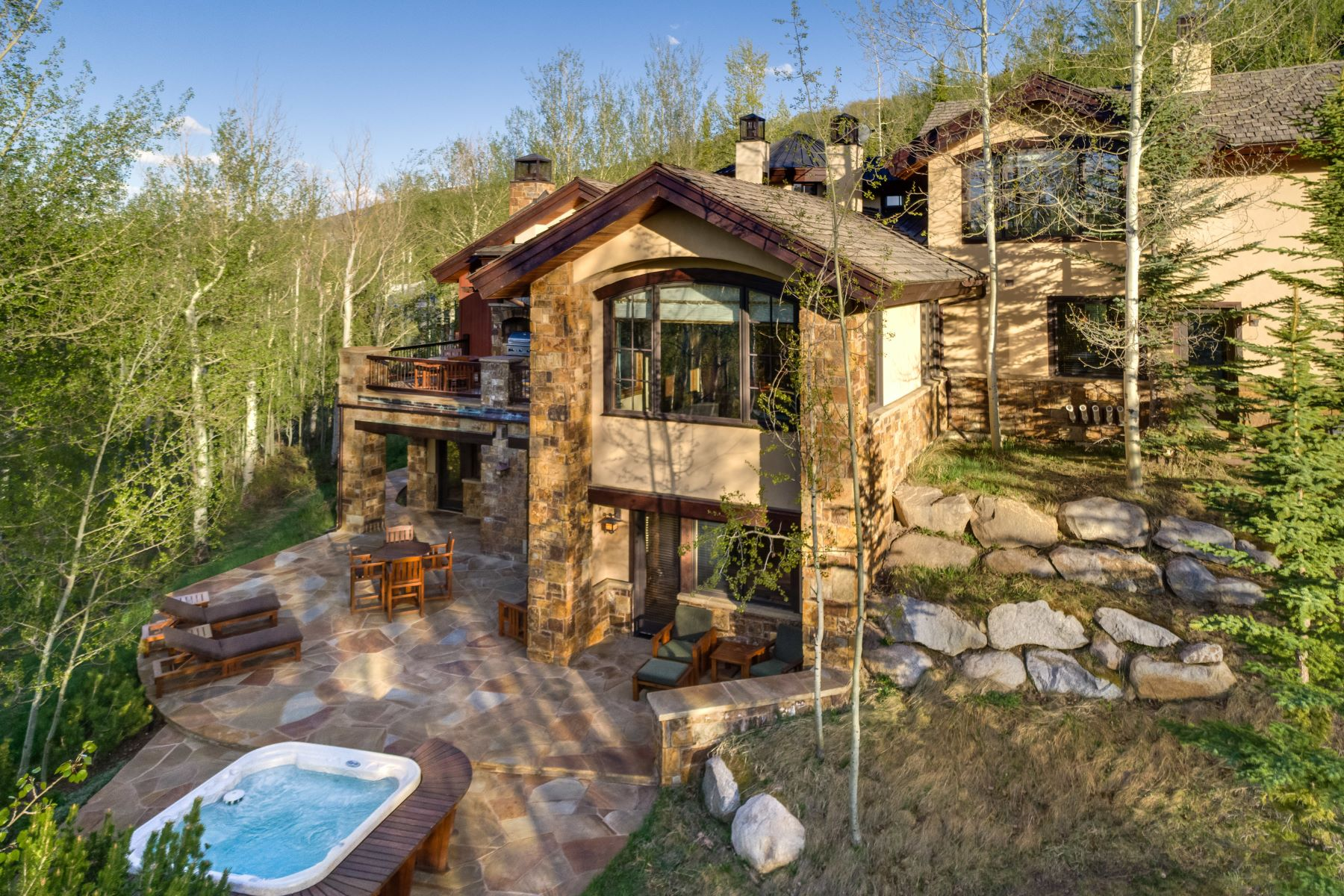 Single Family Homes para Venda às Lush Alpine Setting in The Divide 56 Aspen Way, Snowmass Village, Colorado 81615 Estados Unidos