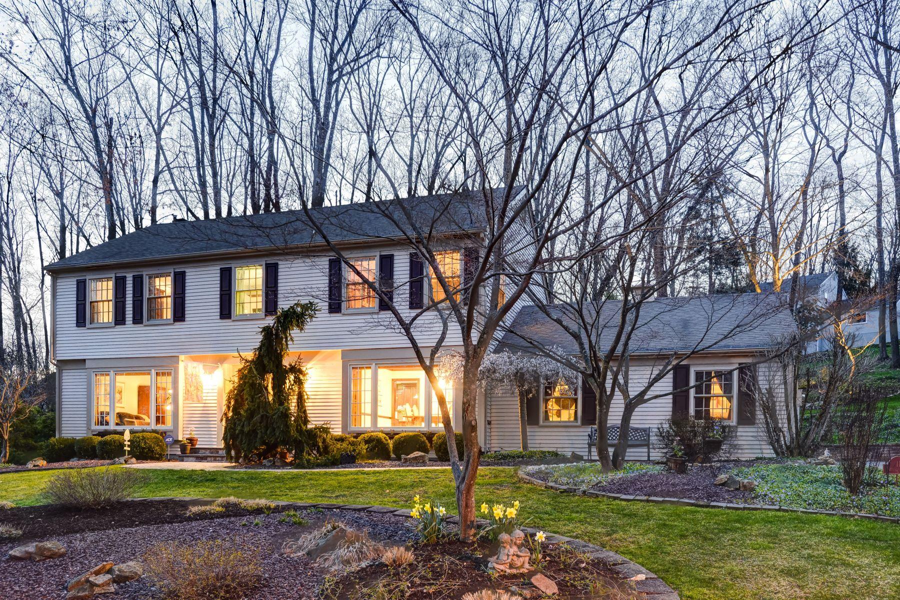 Casa Unifamiliar por un Venta en Stunning Colonial 11 Wyckoff Way, Morris Plains, Nueva Jersey 07950 Estados Unidos