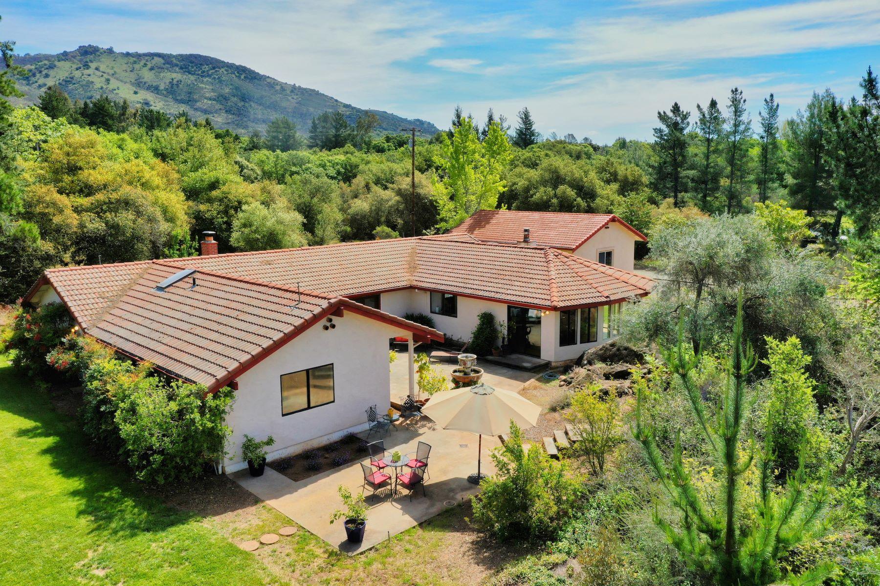 Single Family Homes for Active at Blue Skies and Scenic Views in Napa Valley 3497 Soda Canyon Road Napa, California 94558 United States