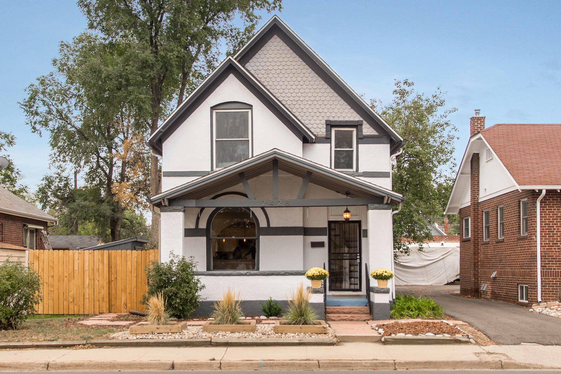 Property por un Venta en Urban Living With Vintage Sophistication 2428 W 38th Ave Denver, Colorado 80211 Estados Unidos