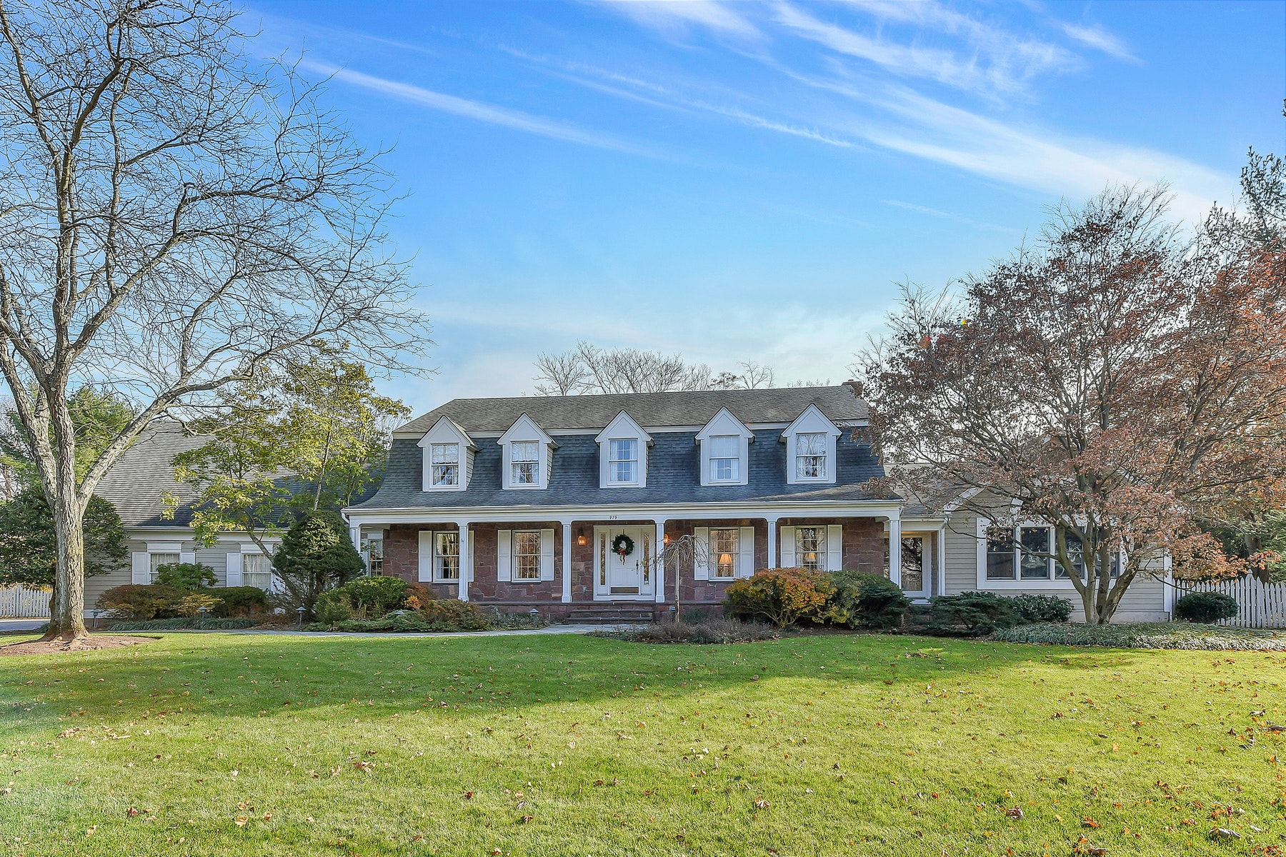 Single Family Home for Sale at Elegant and Classic Center Hall Dutch Colonial 979 Lily Pond Lane, Franklin Lakes, New Jersey, 07417 United States