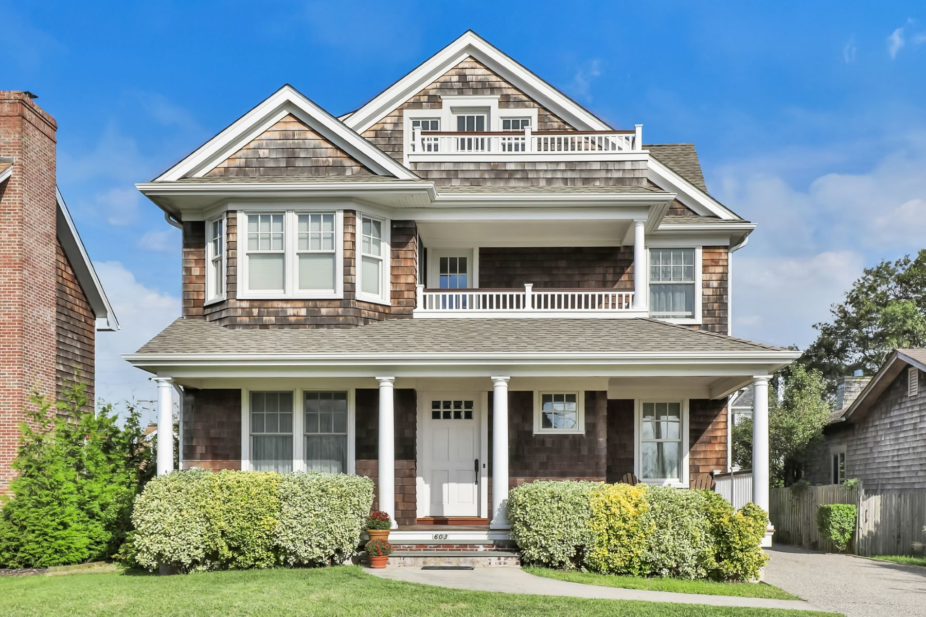 Single Family Homes for Active at Beautiful Custom Built Home Full Of Fine Craftsmanship 603 Lake Avenue Bay Head, New Jersey 08742 United States