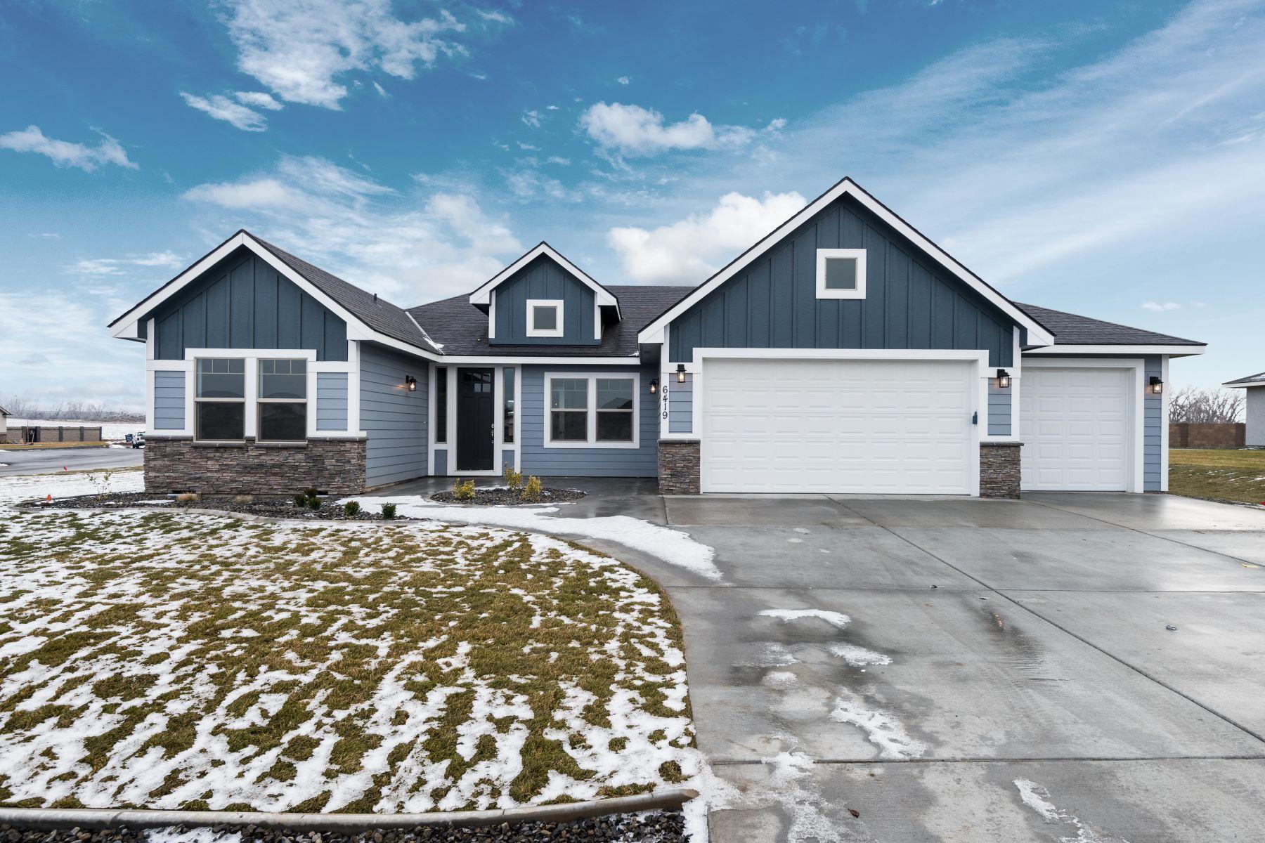 واحد منزل الأسرة للـ Sale في The Richmond by Riverwood Homes 6718 Sandy Ridge, Pasco, Washington, 99301 United States