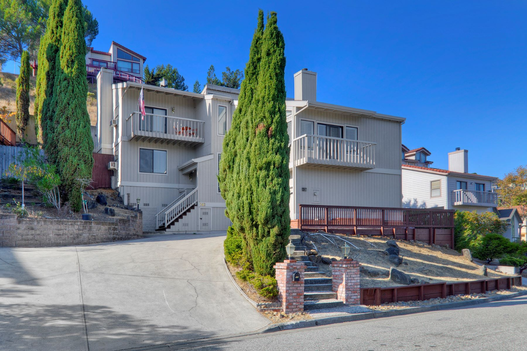 Single Family Homes for Sale at Warm, Traditional Home Tucked Away in the Hills 142 Exeter Avenue San Carlos, California 94070 United States